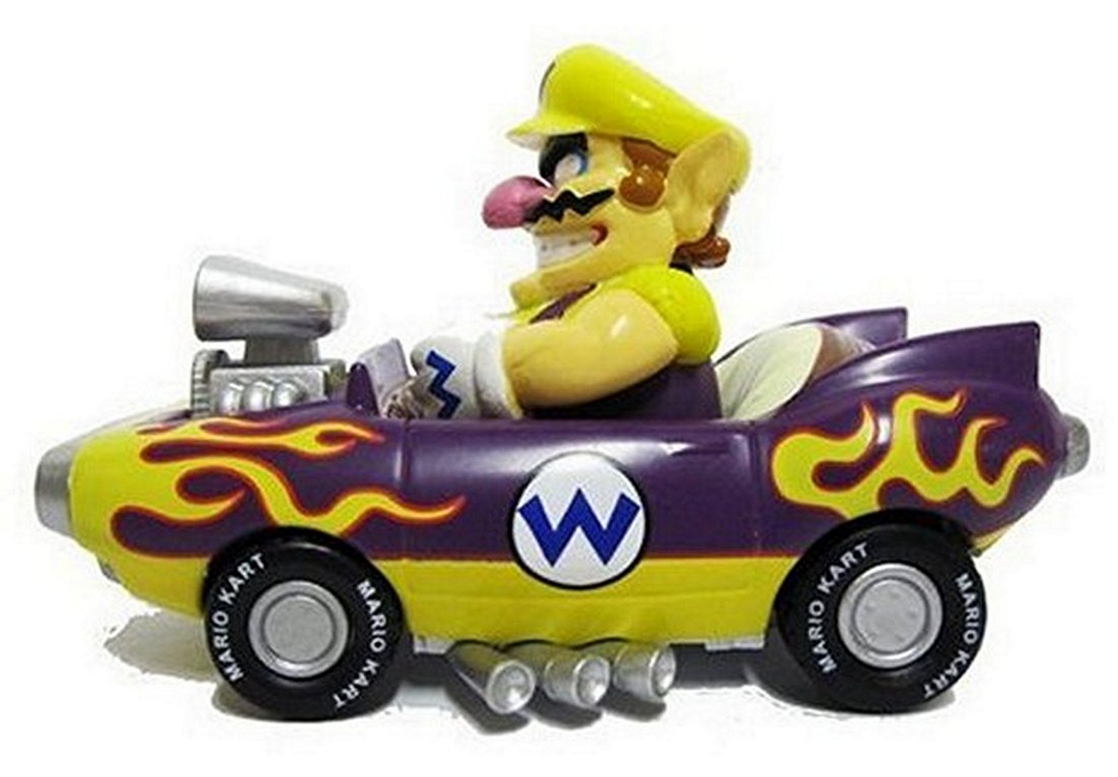 nintendo mario kart 2010 wii pull back car mini figure 3. Black Bedroom Furniture Sets. Home Design Ideas