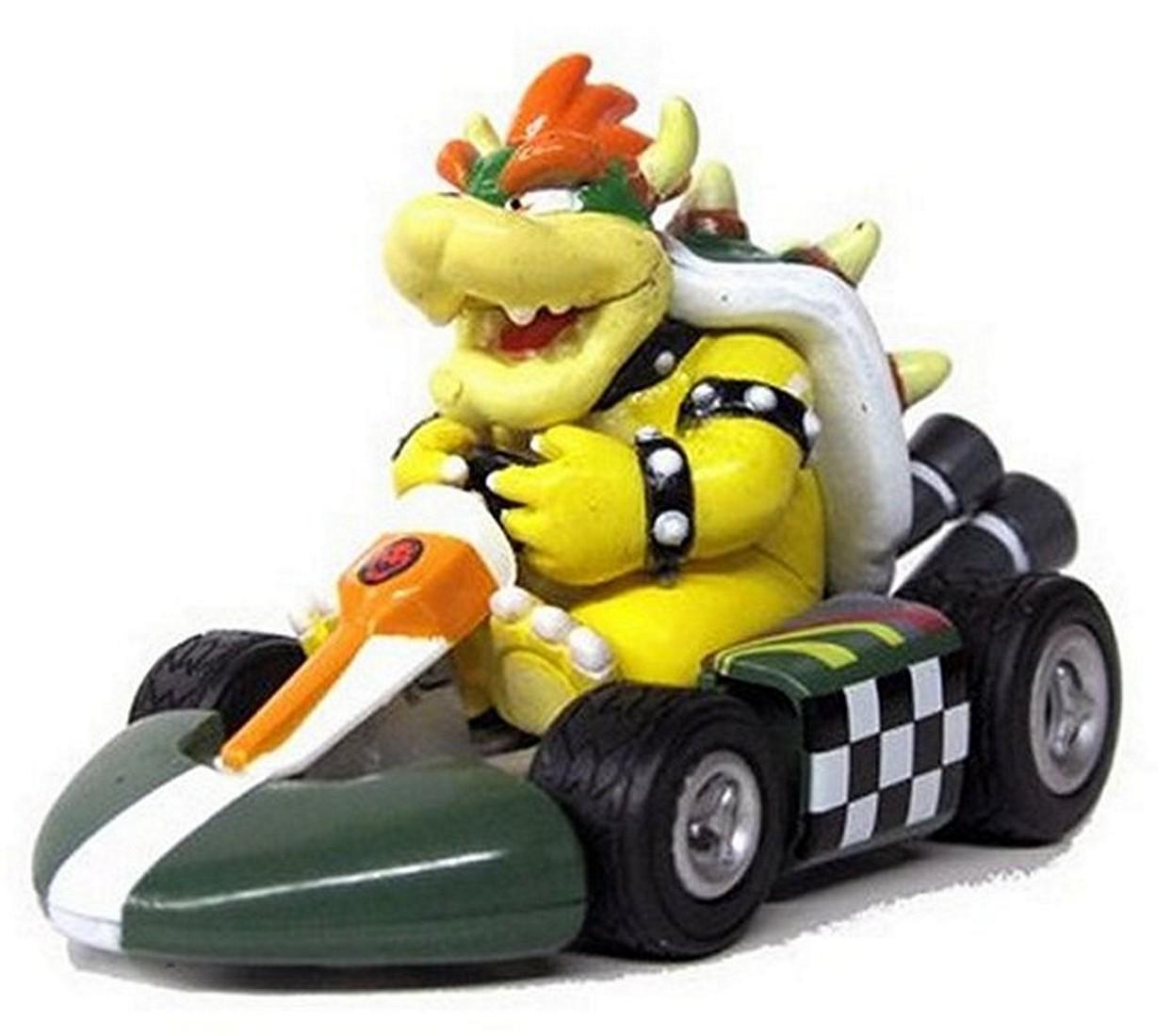 Nintendo mario kart wii pull back car version 2 mini for Coupe miroir mario kart wii