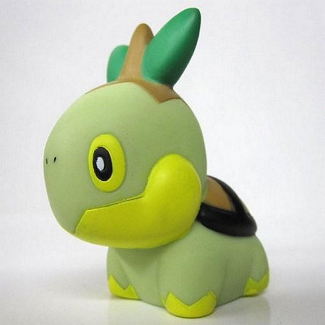 Squishy Pokemon Gashapon : Pokemon Diamond & Pearl Gashapon Squeeze Figure-Turtwig eBay