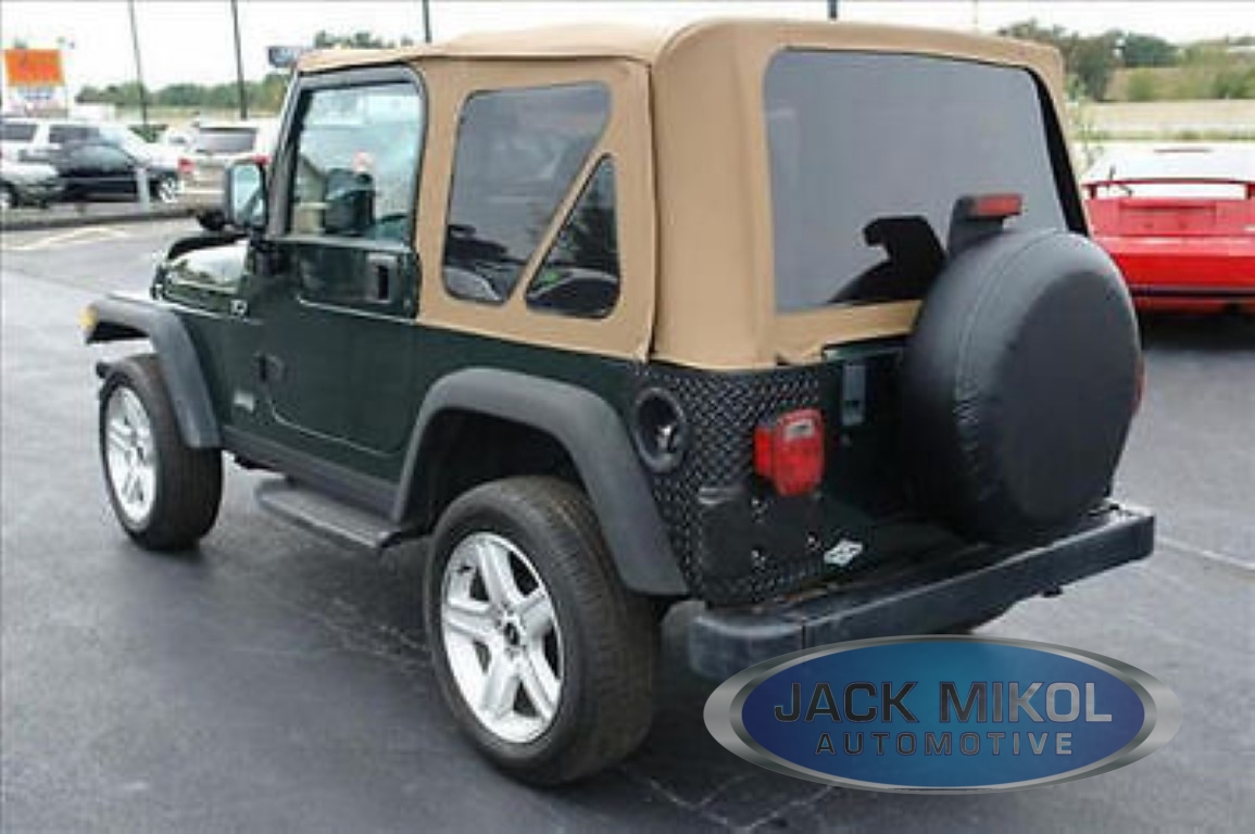 Awesome Spice 97 06 Jeep Wrangler Replacement Soft Top + Front Upper Skins