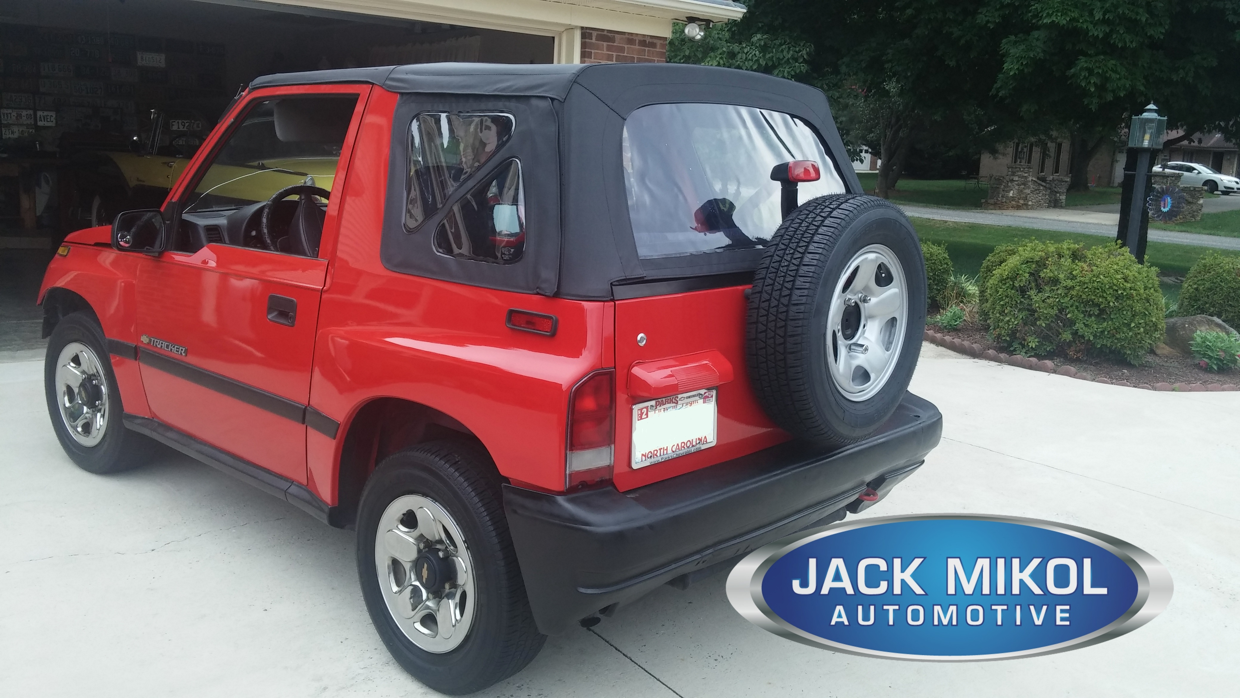 1998 chevy tracker soft top parts