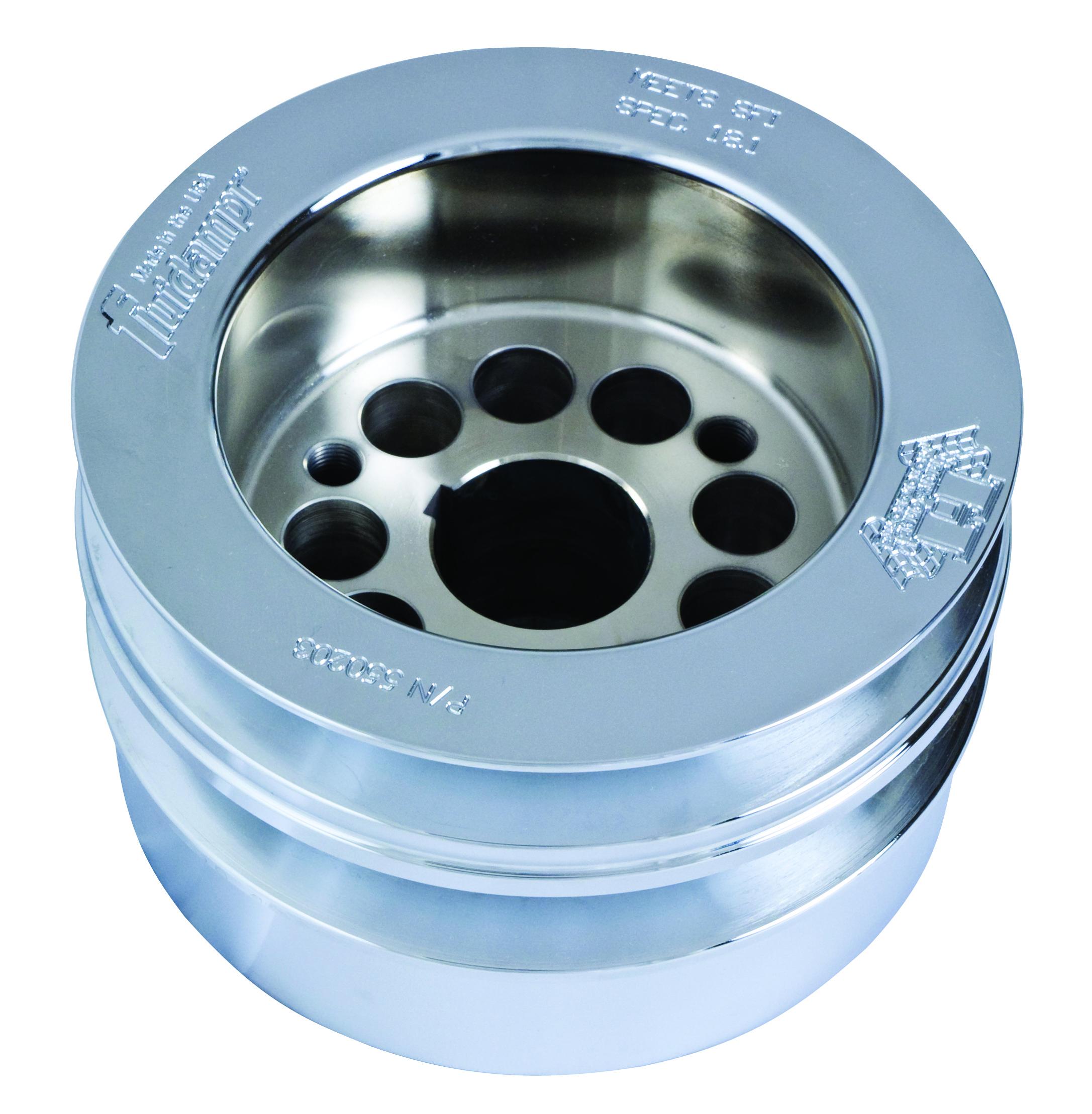 fluidr ford flathead w wide belt pulley harmonic