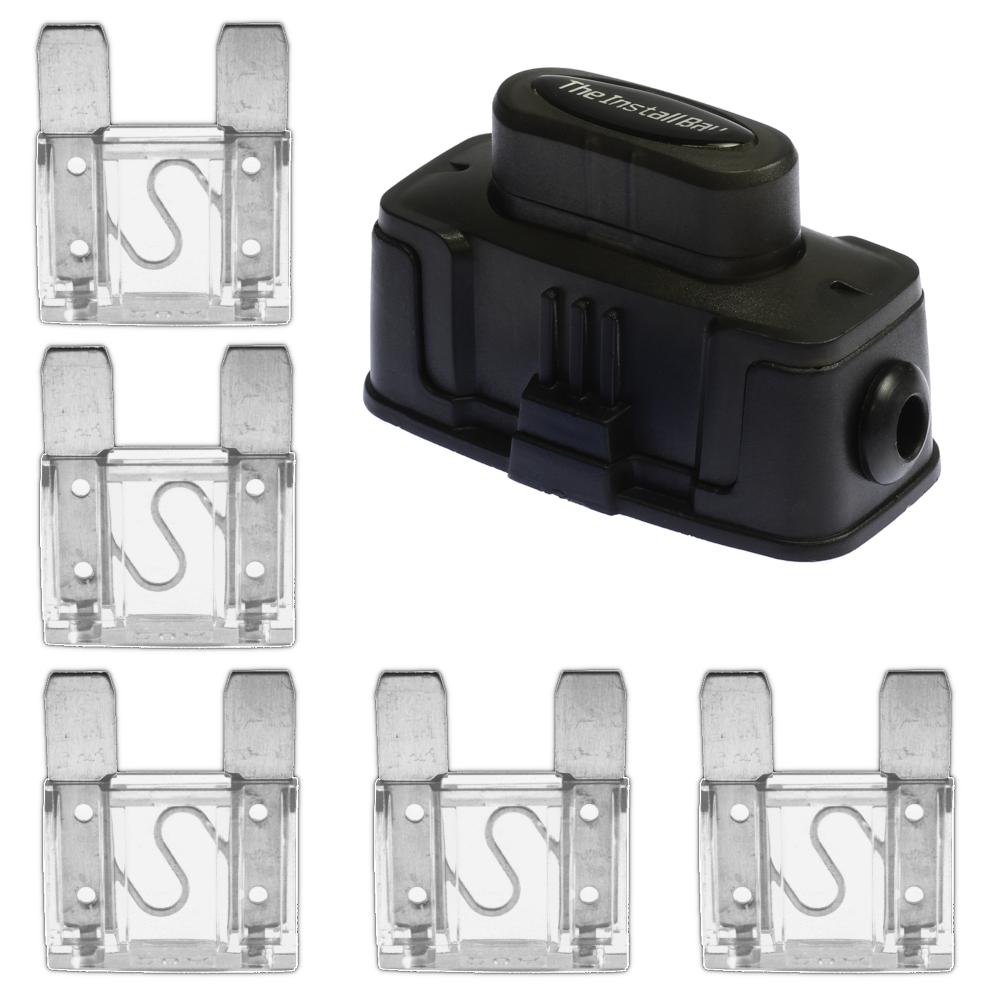 Install Bay Maxihdh Heavy Duty Maxi Fuse Holder With 5 Pcs 80 Amp Maxi Fuses