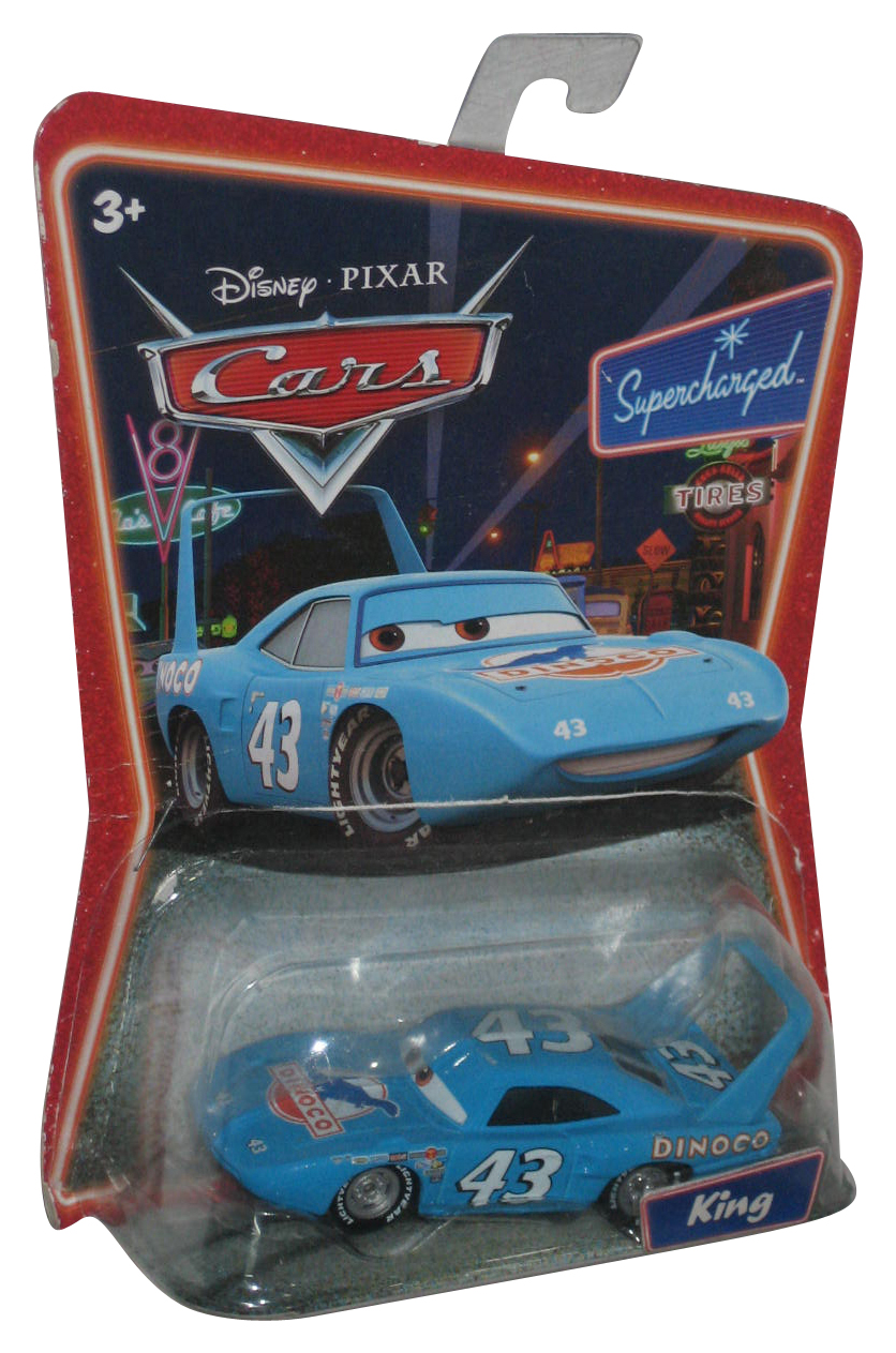 Disney Pixar Cars The King Dinoco Supercharged Die-Cast Mattel Toy Car