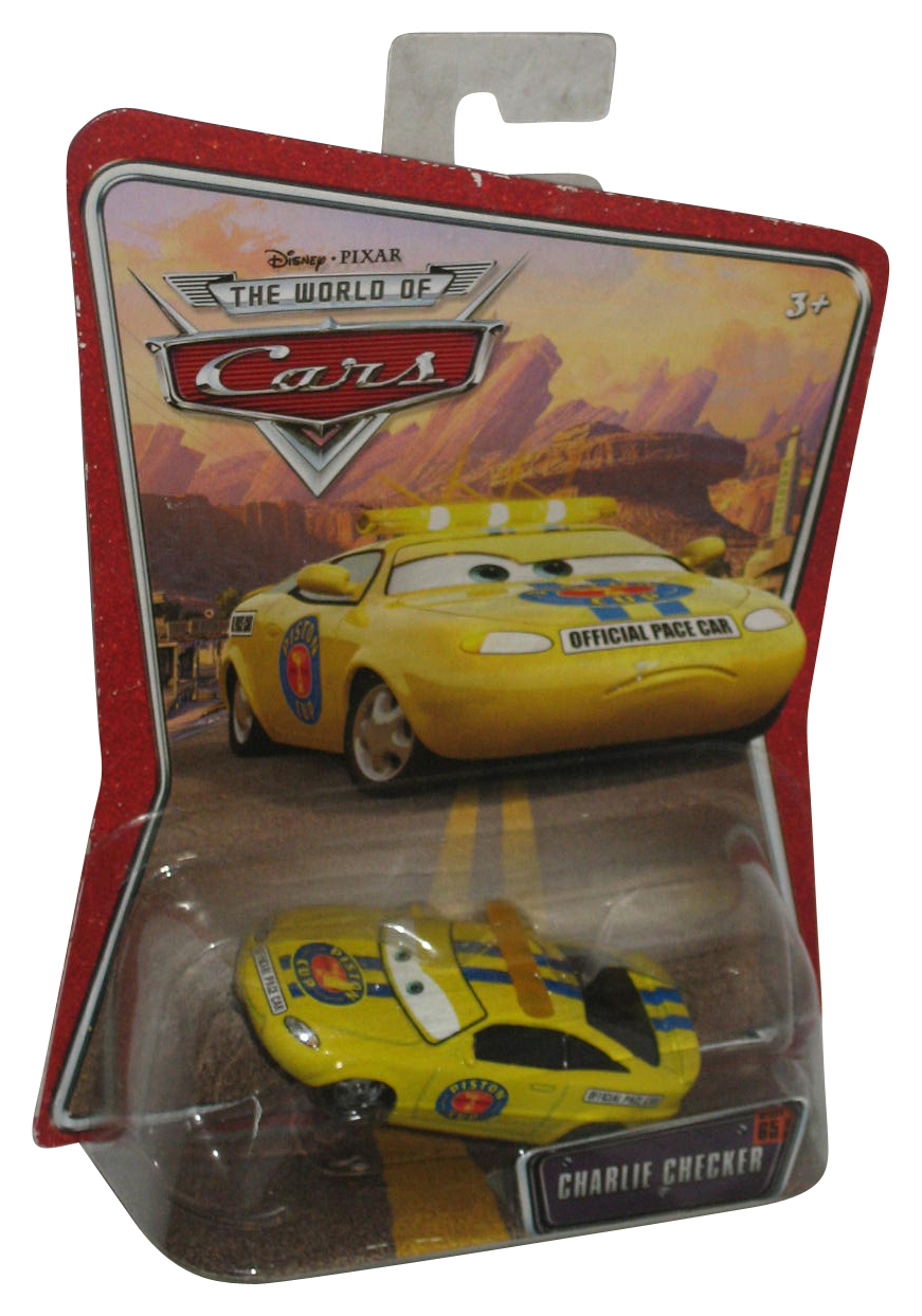 Disney Pixar Cars World of Cars Charlie Checker Rare