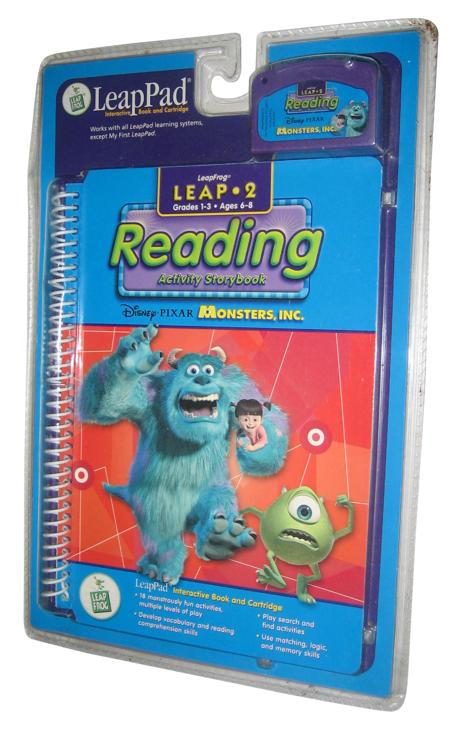 Details Sur Disney Pixar Monsters Inc Leappad 2 Lecture Interactif Leap Grenouille Livre