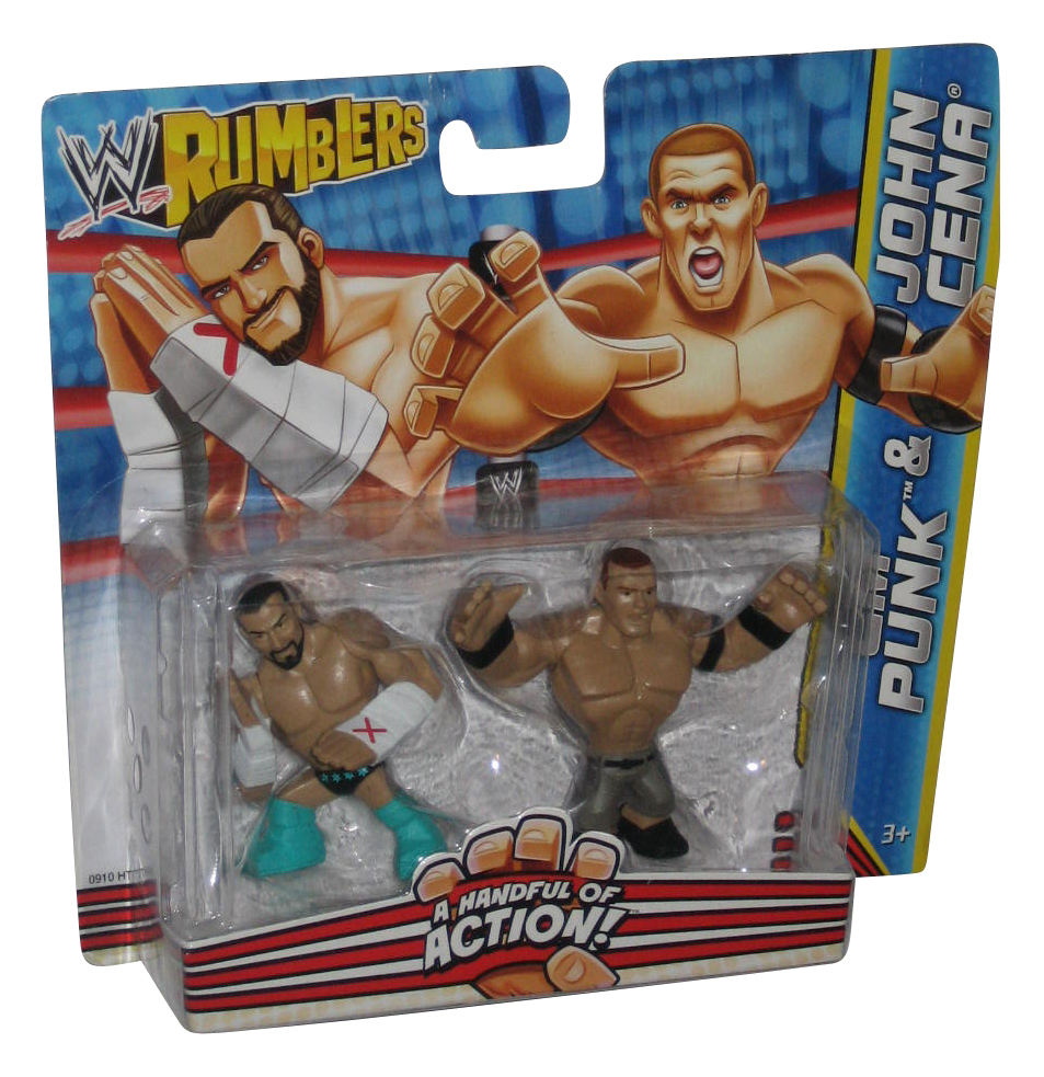 Purple The Miz WWE Mattel Rumbler Wrestling Figure