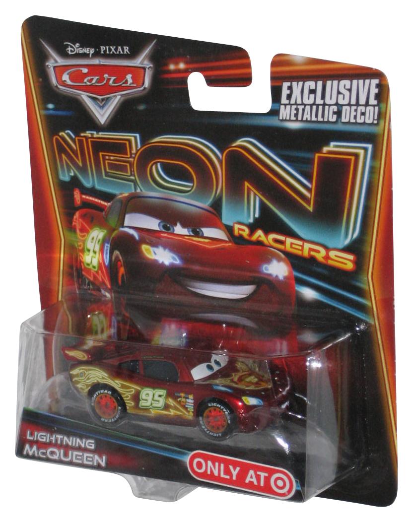 Disney Pixar Cars Movie Neon Racers Lightning Mcqueen Toy Car Ebay