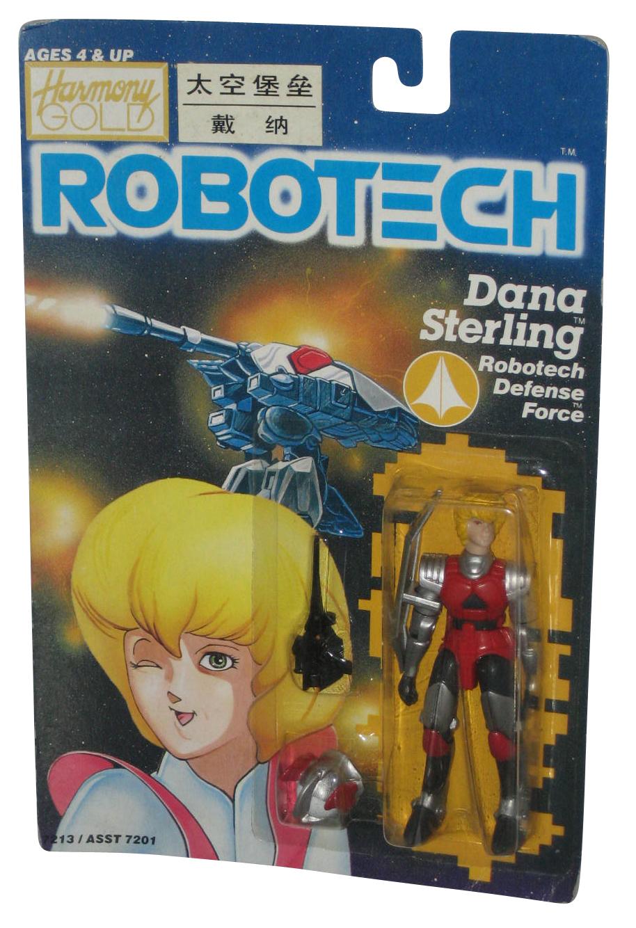 Robotech-Dana-Sterling-Defense-Force-1985-Matchbox-3-75-Inch-Figure