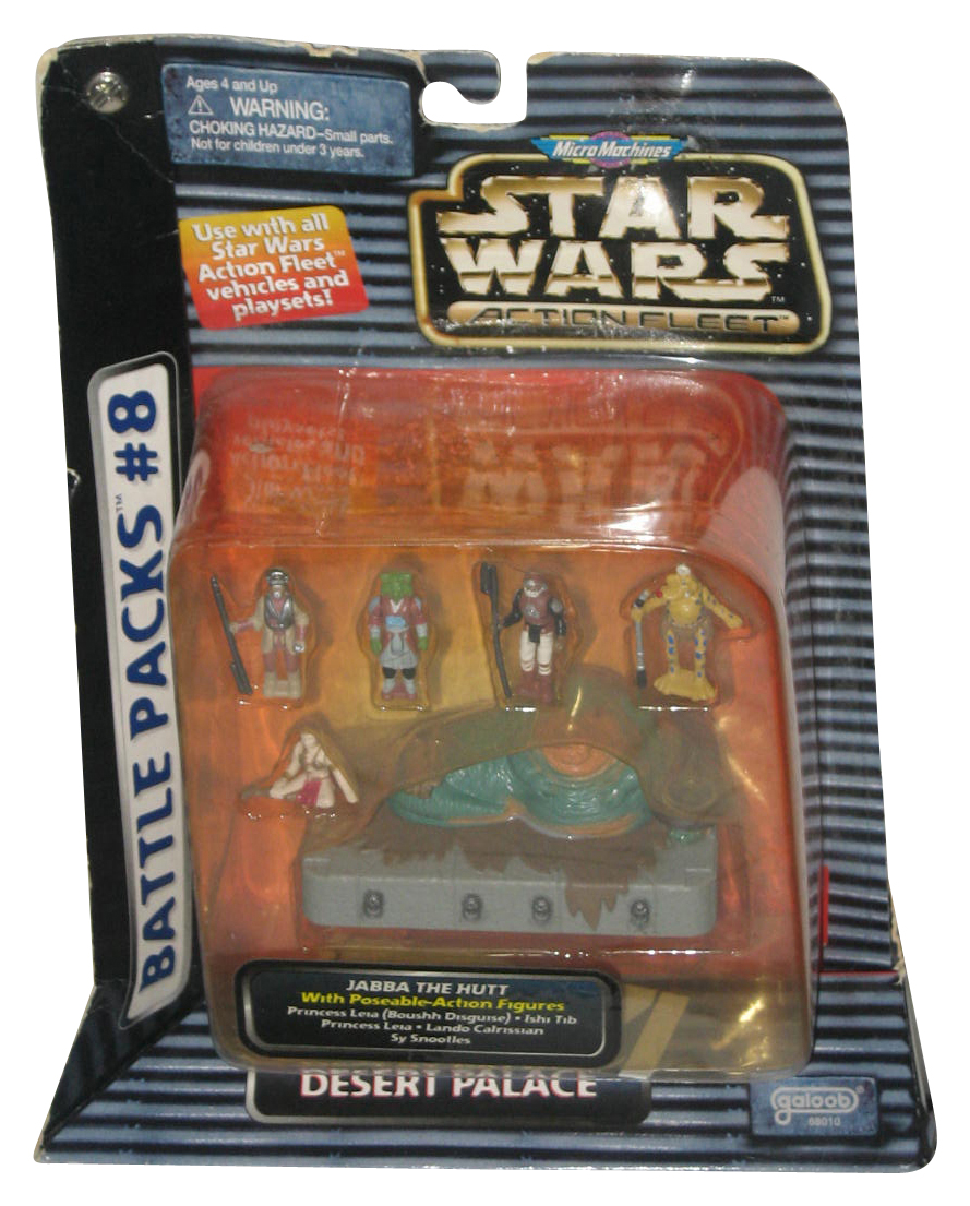 Micro Machines Star Wars Jabba The Hutt V2