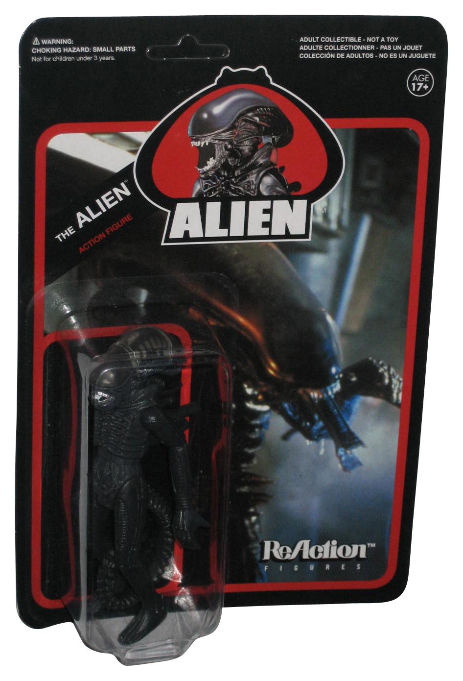 "New Toy THE ALIEN SUPER 7 Alien REACTION FUNKO Kenner 3.75/"" Action FIGURE FW467"
