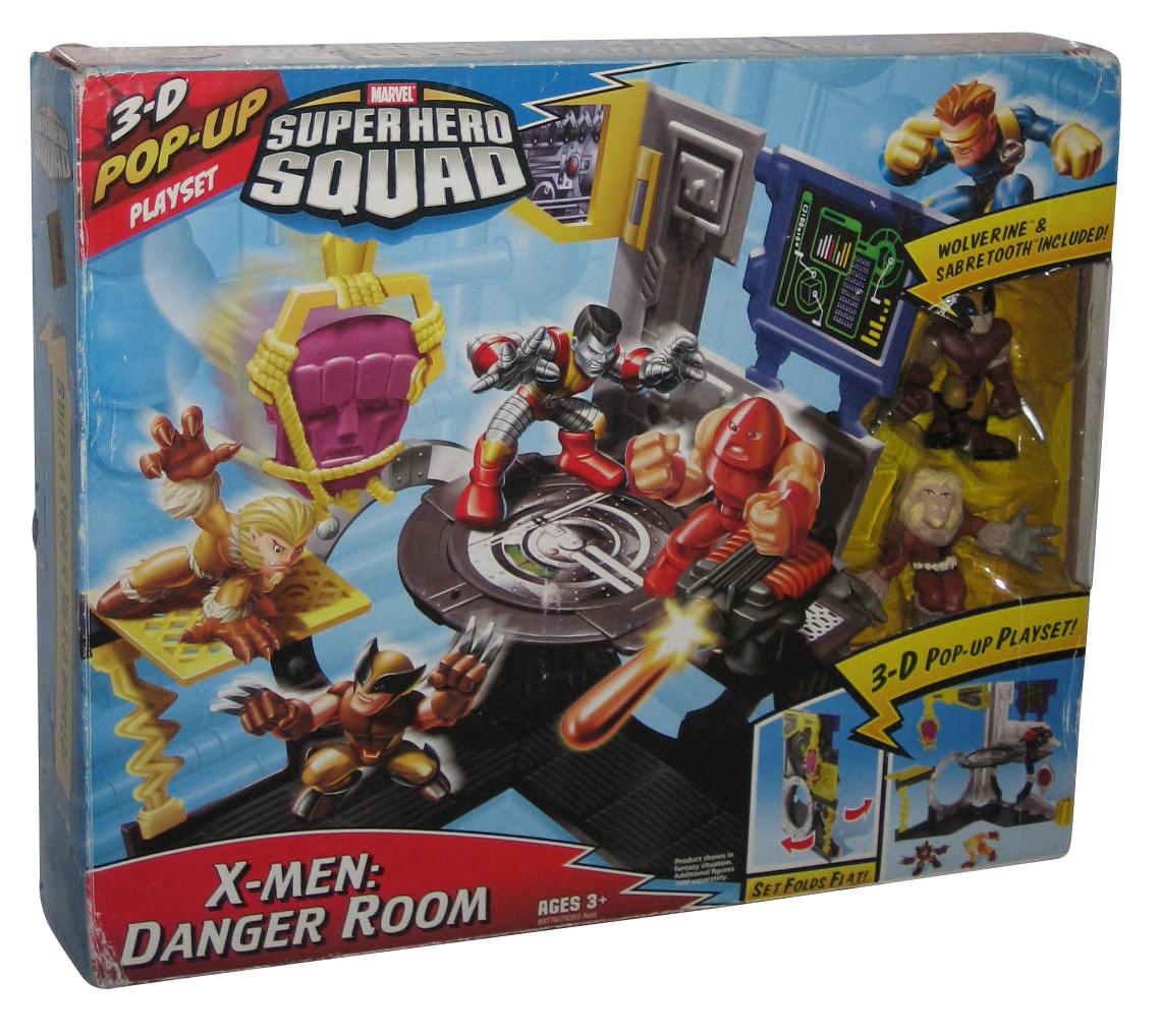 Marvel Comic Super Hero Squad X-Men Wolverine Loose Action Figure D