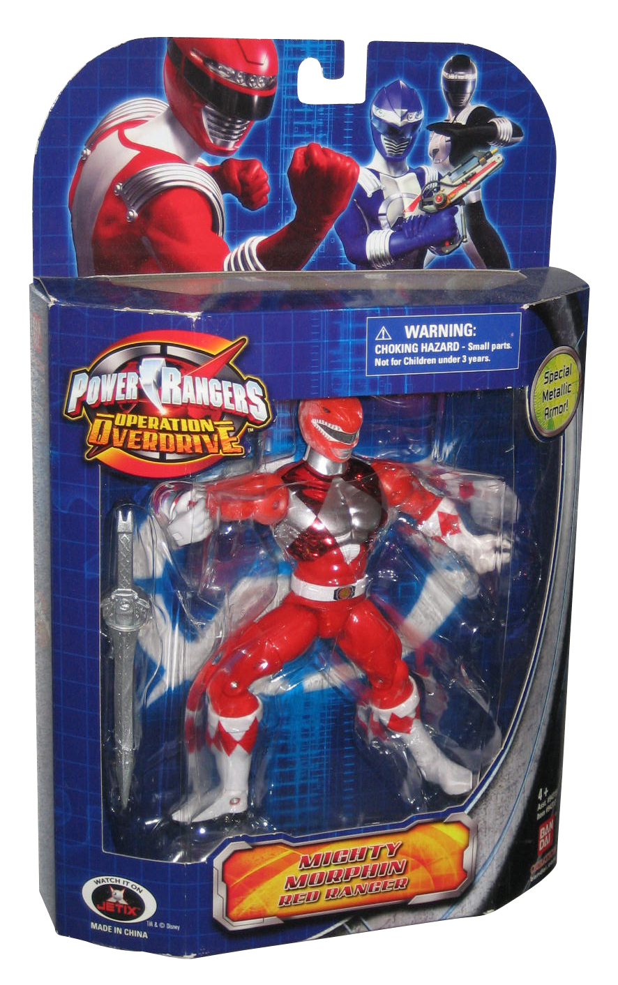 Figurine keychain power rangers operation overdrive bandai 2008 complete series