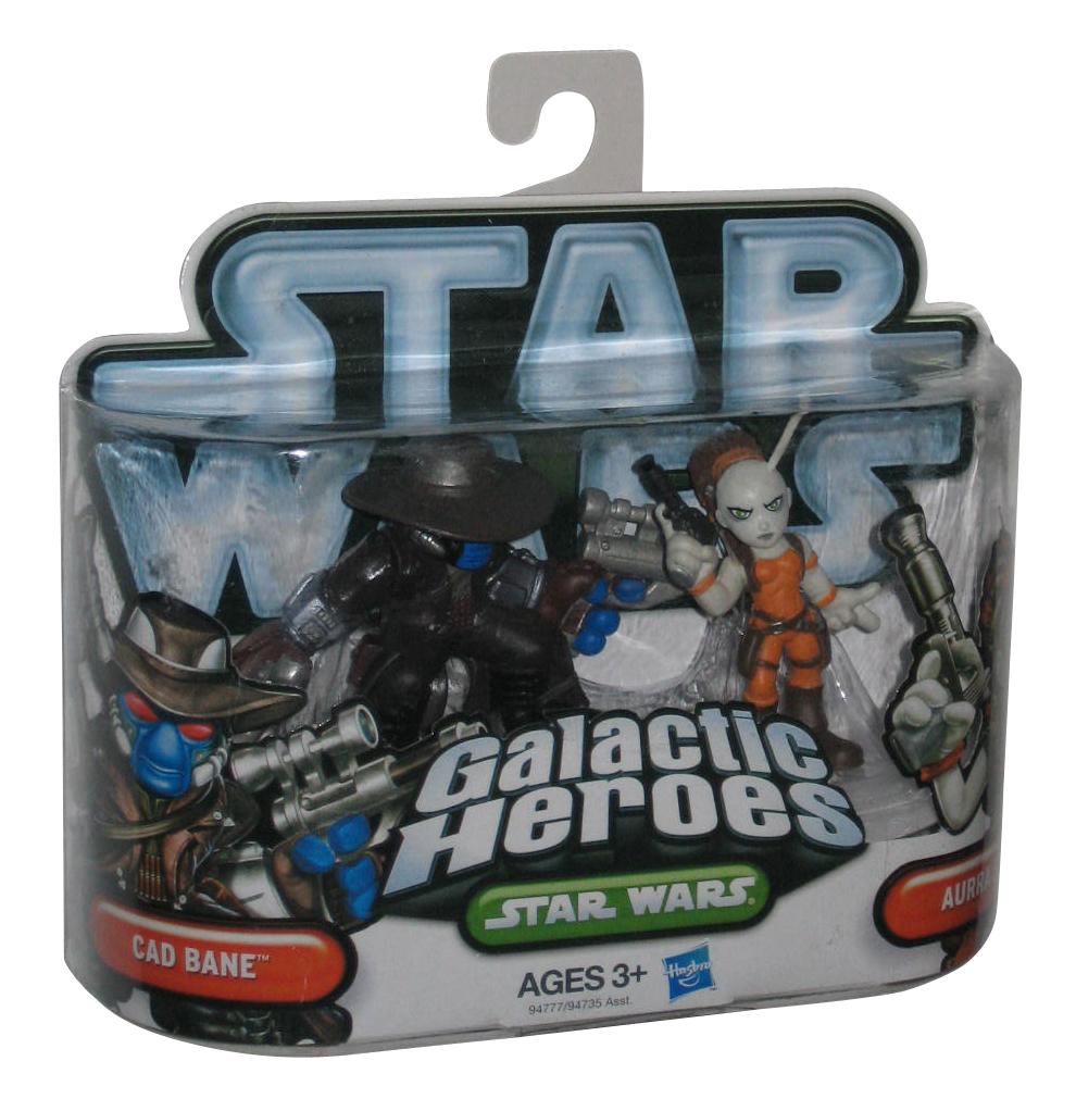 Star Wars Galactic Heroes ADMIRAL ACKBAR  PADME AMIDALA AURRA SING lot of 3pcs