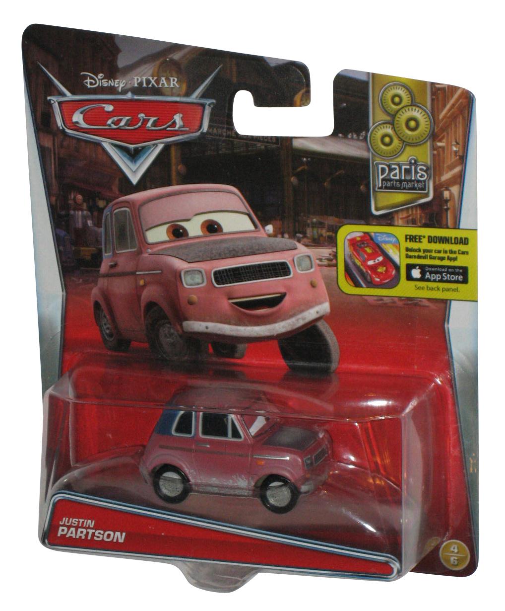 Disney Pixar Cars Movie Justin Partson Die Cast Toy Car Ebay