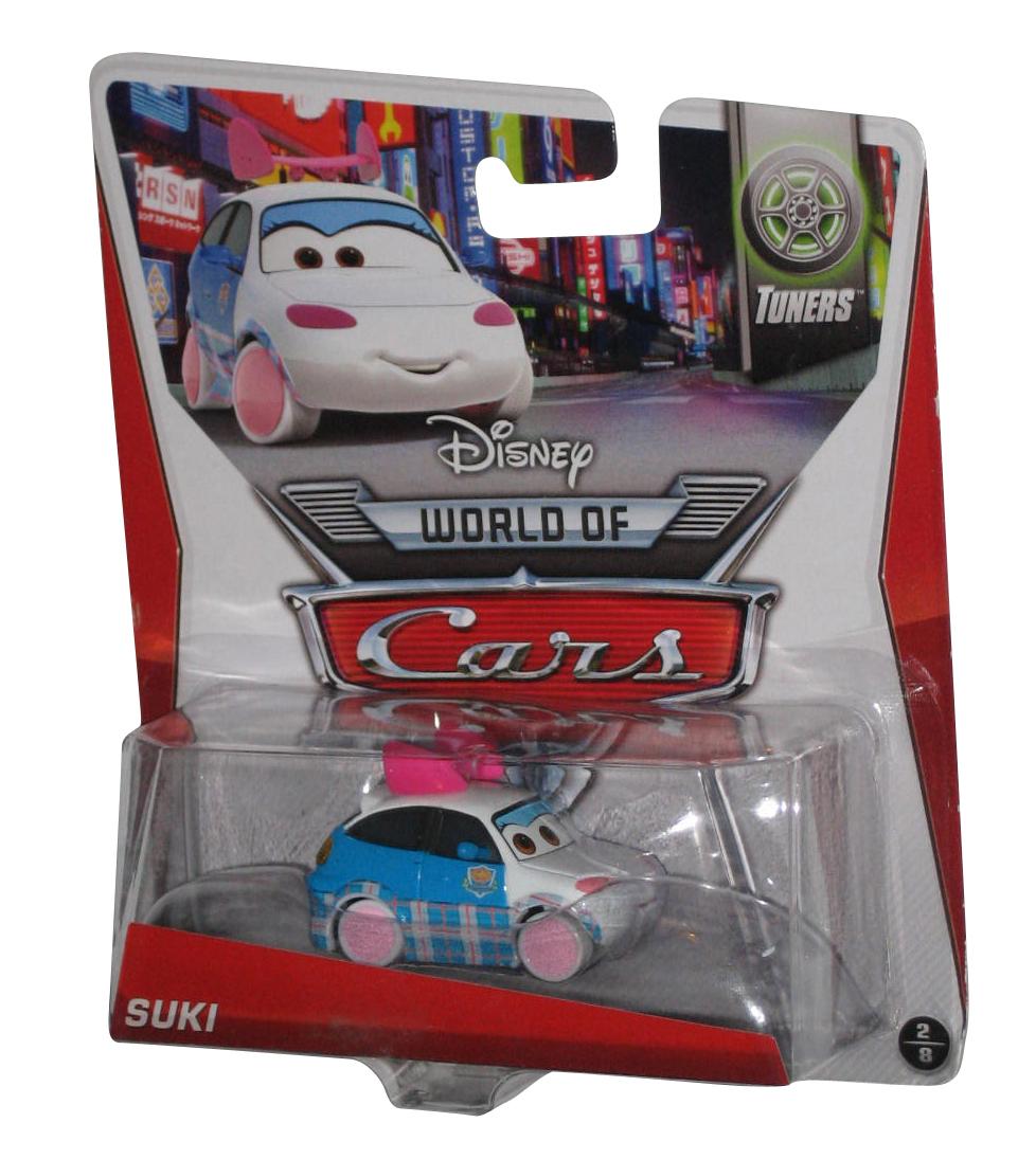 Disney Pixar World Of Cars Movie Tuners Suki Mattel Die Cast Toy