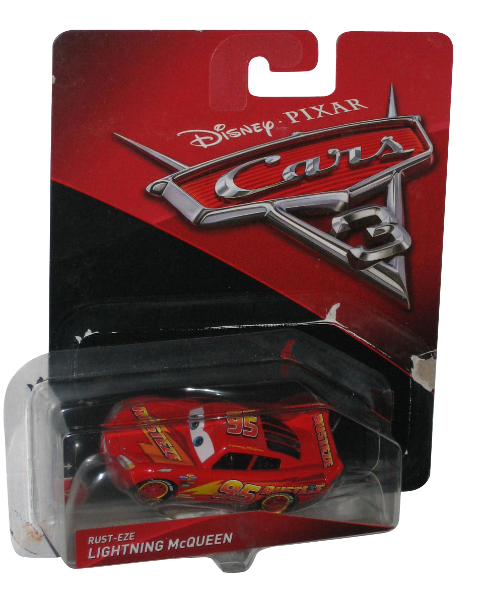 Disney Pixar Cars 3 Movie Rust Eze Lightning Mcqueen Die Cast Toy