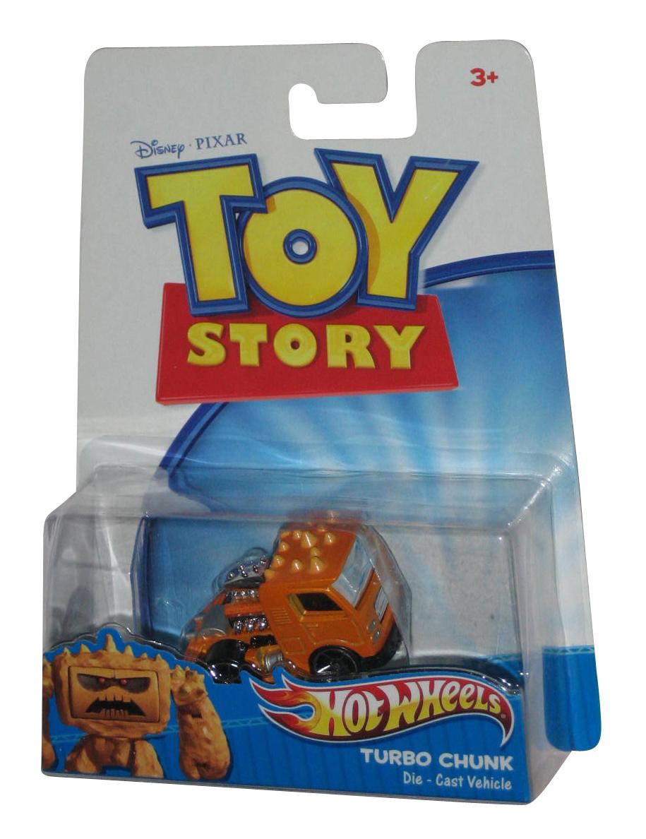 Turbo Chunk Die Cast Vehicle USA Toy Story Hotwheels