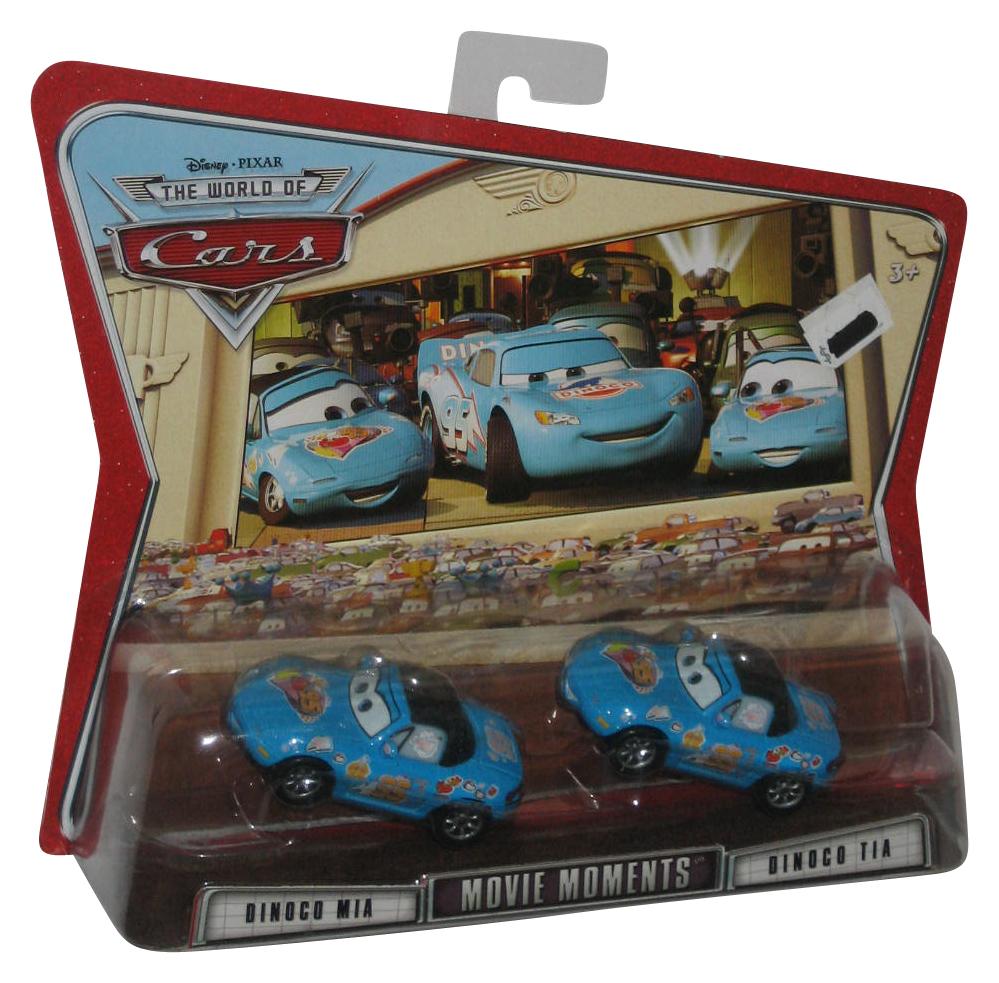 Disney Pixar Cars Movie Moments Dinoco Mia Tia Toy Die Cast Car