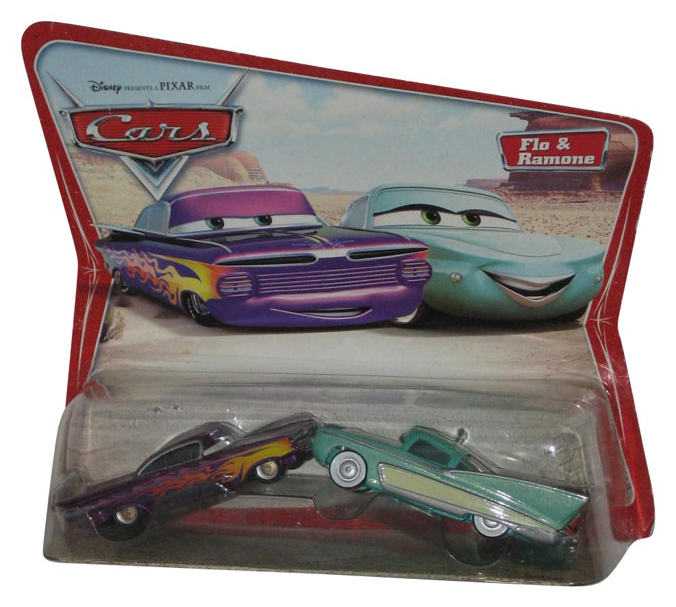 Disney Pixar Cars Flo Ramone Movie Moments Die Cast Toy Car Set