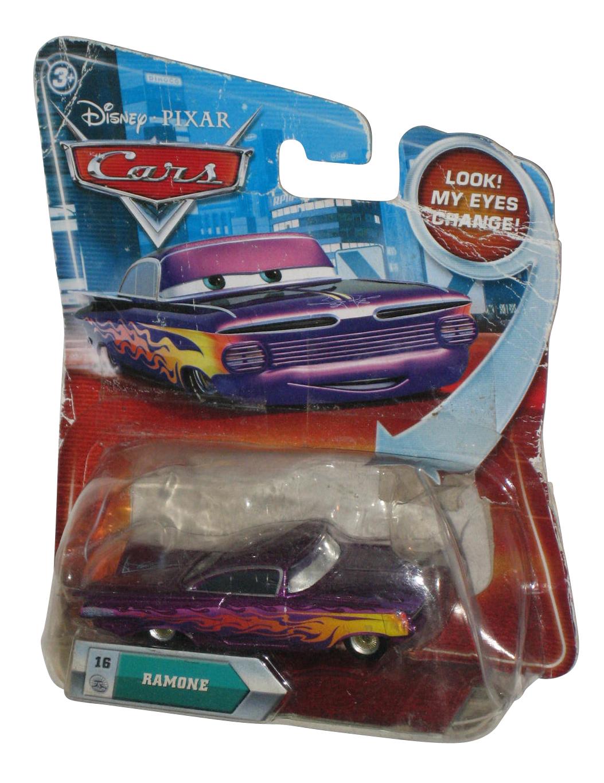 Disney Cars Movie Lenticular Eyes Change Purple Ramone Die Cast