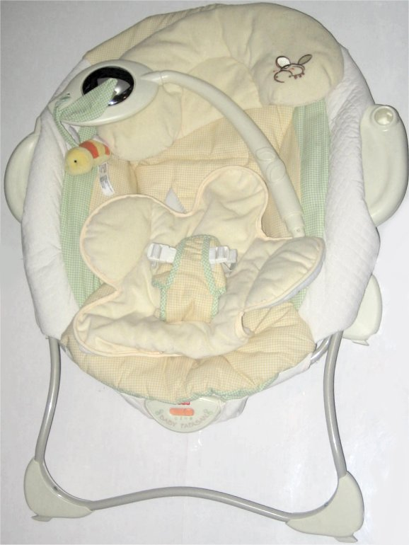 fisher price baby papasan vibrations infant seat music bouncer ebay. Black Bedroom Furniture Sets. Home Design Ideas