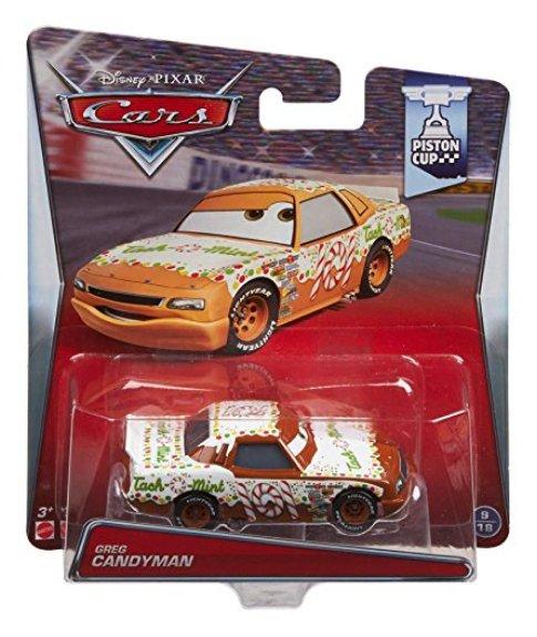 Disney Pixar Cars Movie Greg Candyman Piston Cup Die Cast Toy Car Ebay