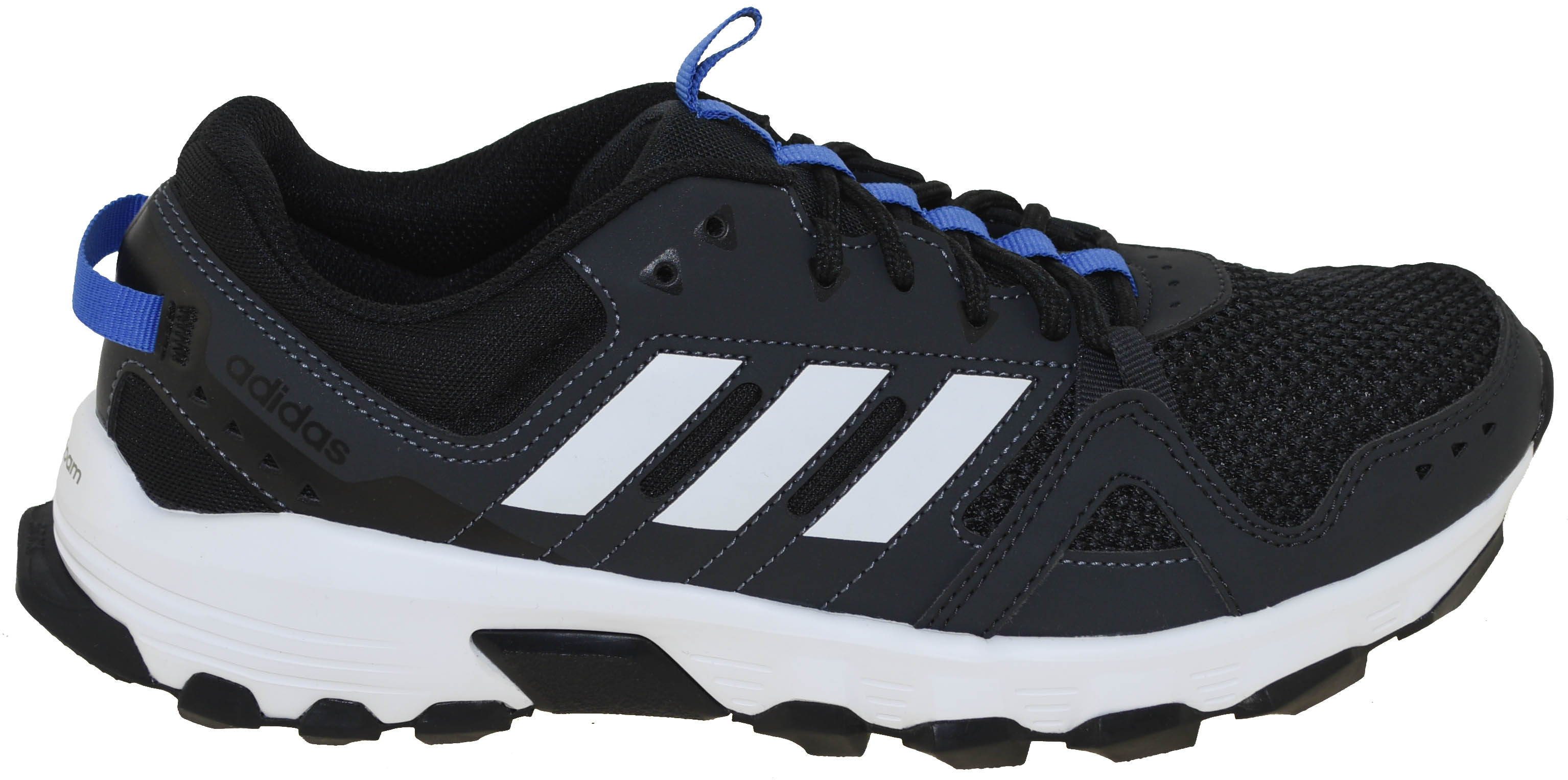 Adidas Men s Rockadia Trail Shoes Style CM7212 Carbon White Blue  a3d7ddcab