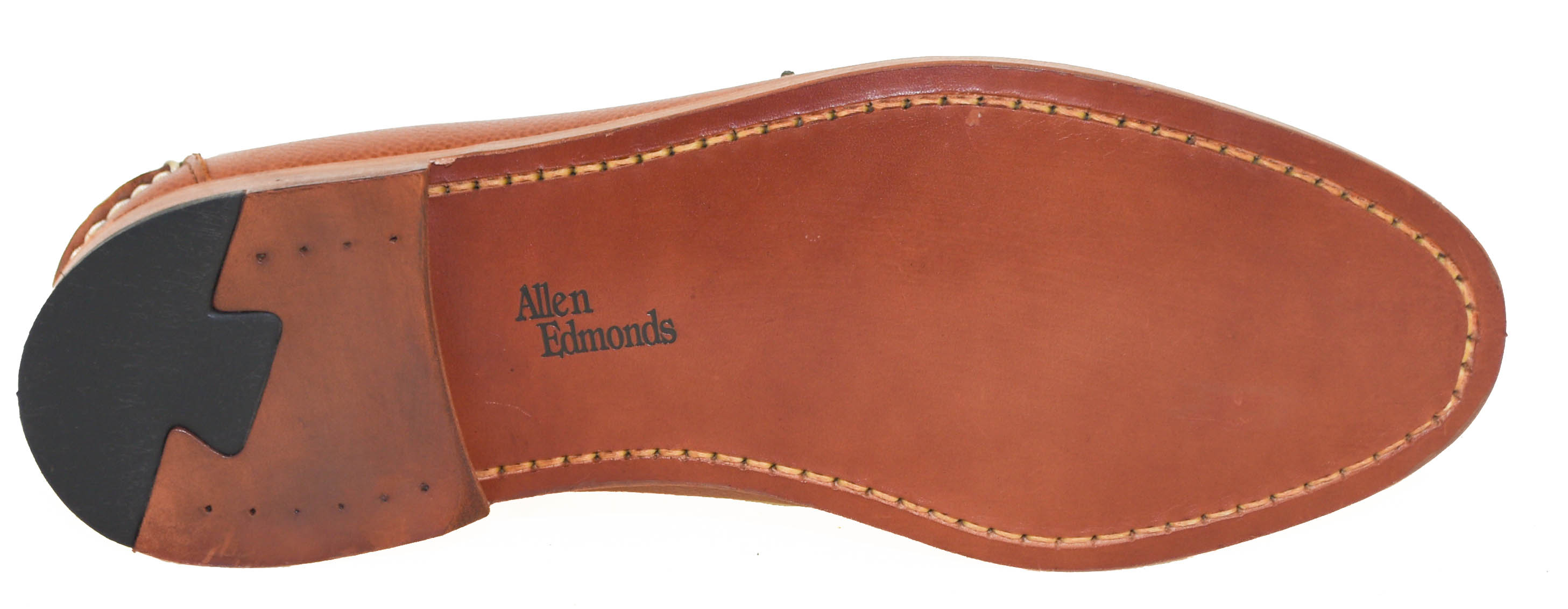 Allen Edmonds Men/'s Fort McHenry Penny Loafer Tan 50301 40139