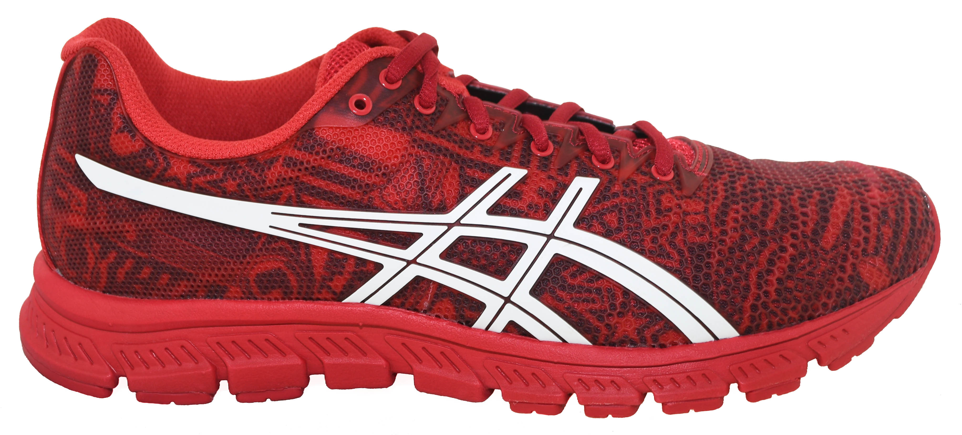 c5040ca1715c Asics Mens JB Elite TR Training Shoes Red White Crimson
