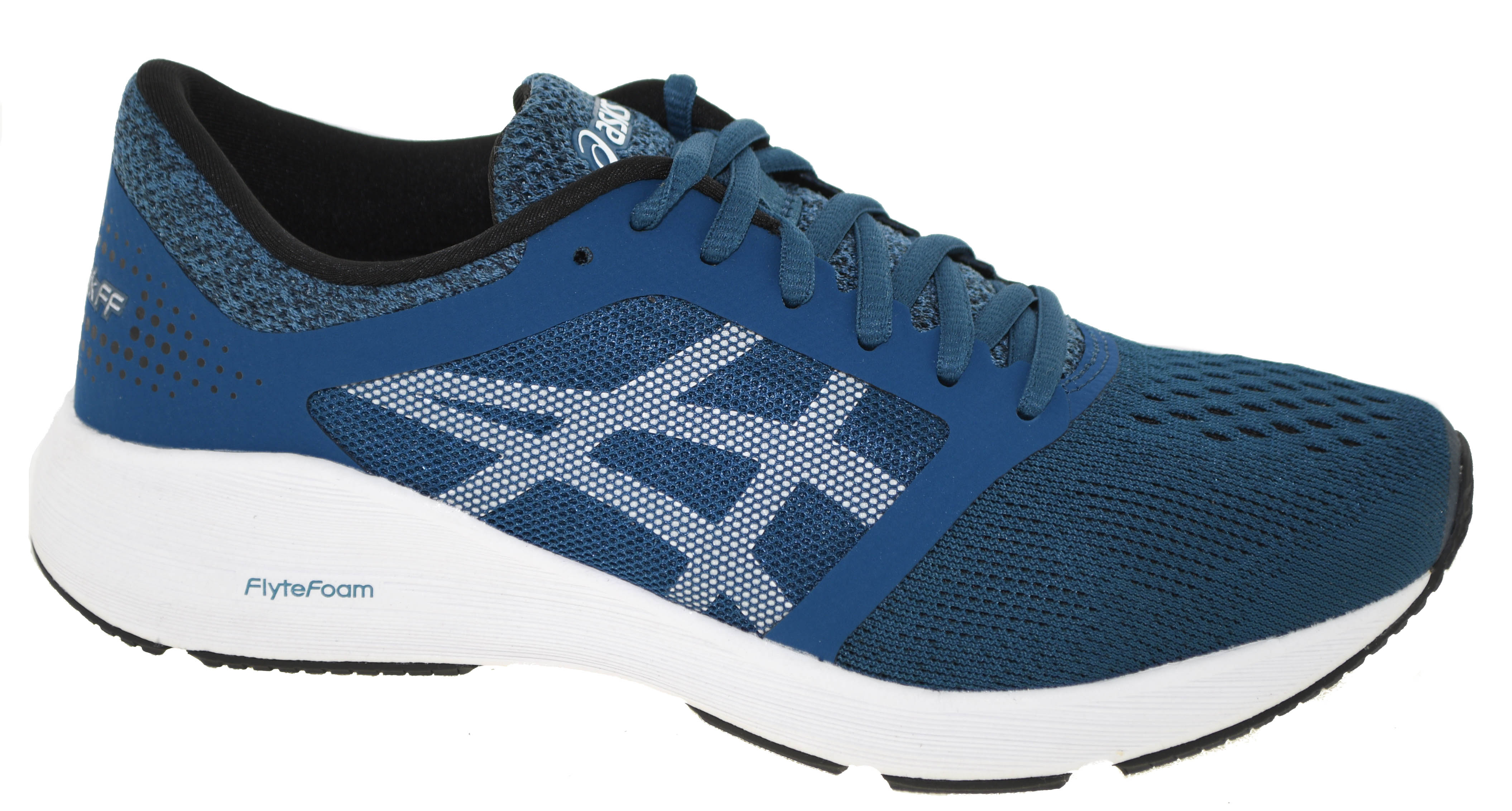 00766cef3a33 Asics Men s Roadhawk FF Running Shoes Ink Blue White Black Style 4501