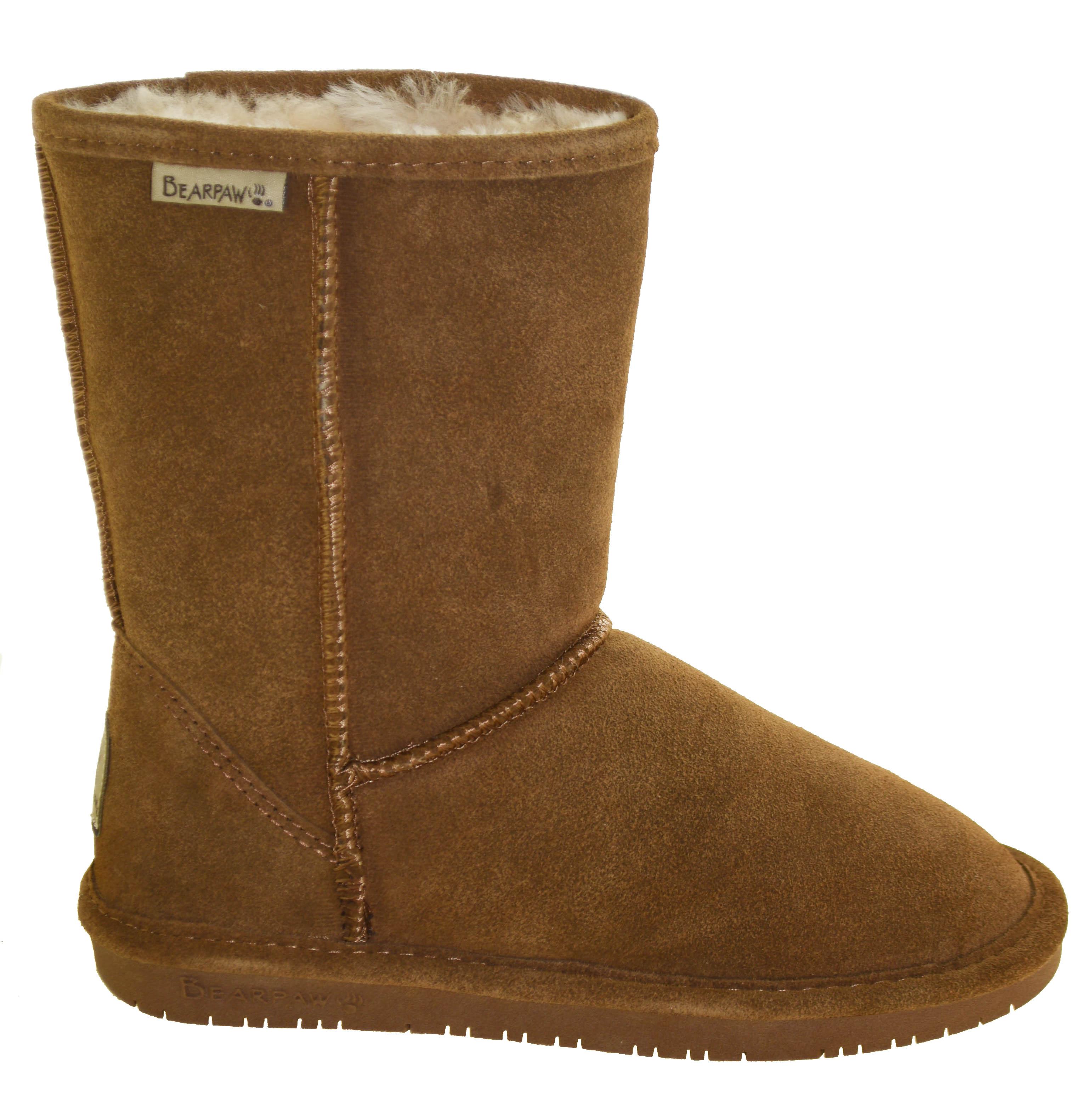 cf847da2569b Bearpaw Women s Emma Short Wide Winter Boot Style 609W Hickory