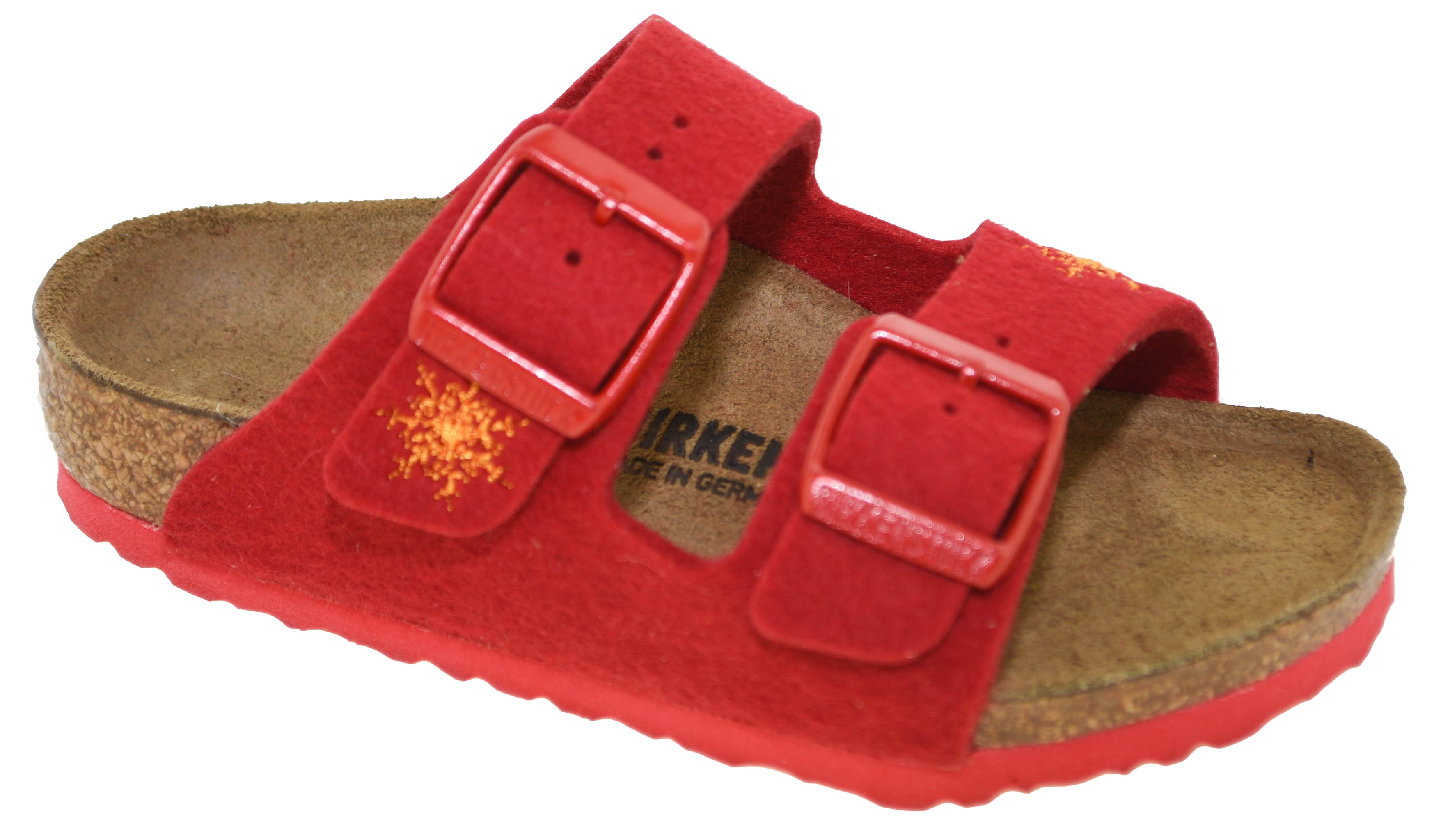 Arizona Sandals Snow Stars Red