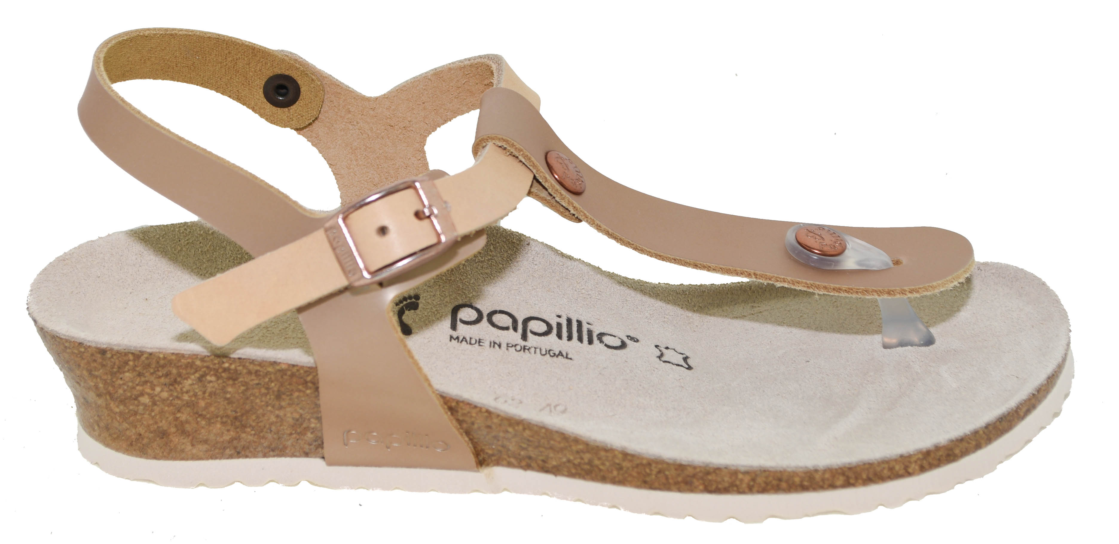 a7ce325bc7e6 Birkenstock Papillio Women s Ashley Sandal Frosted Metallic Rose Style  1008936