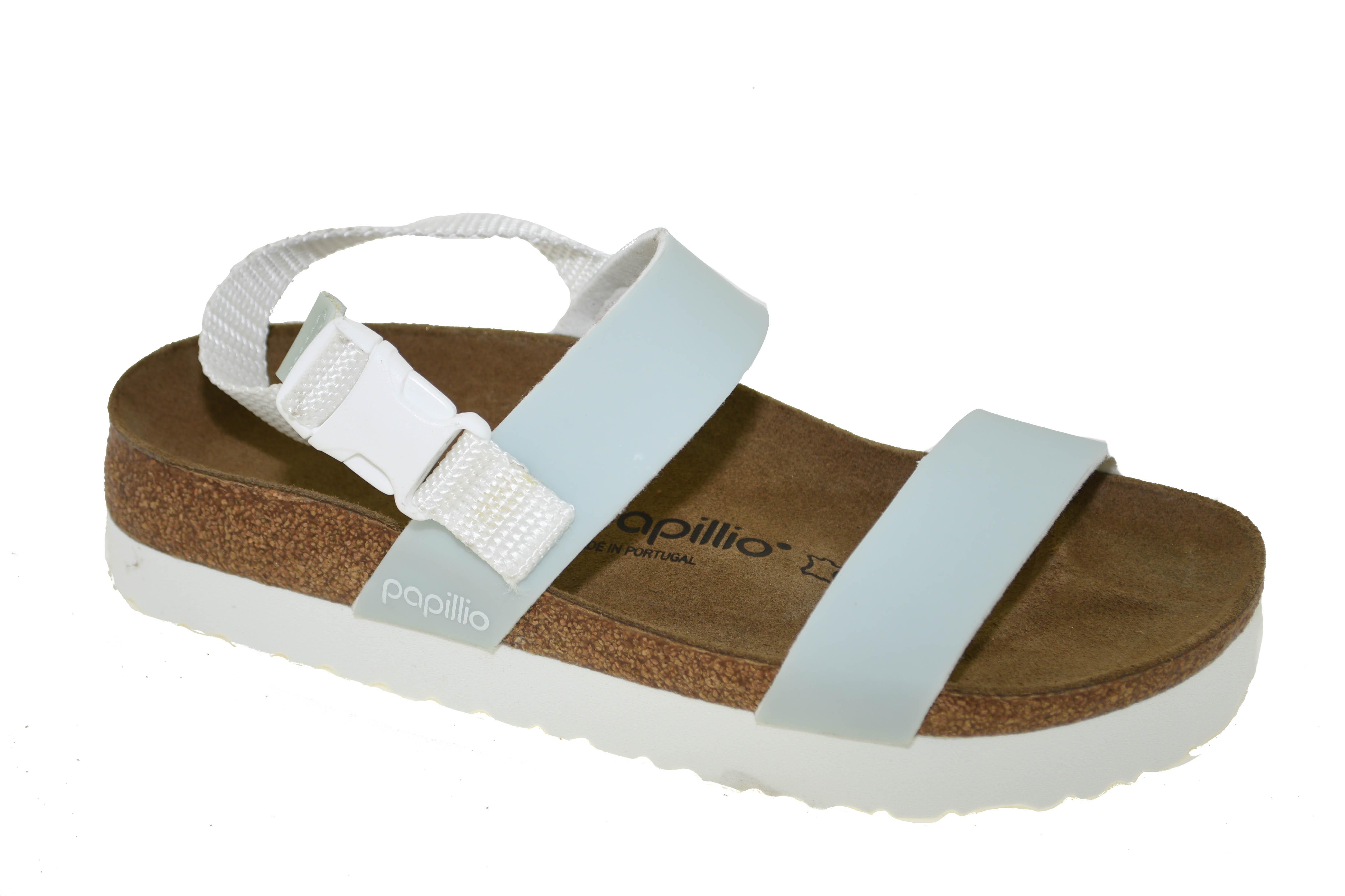 4958efb6e3d Birkenstock Papillio Women s Cameron Pop Sandal Pastel Blue Style ...