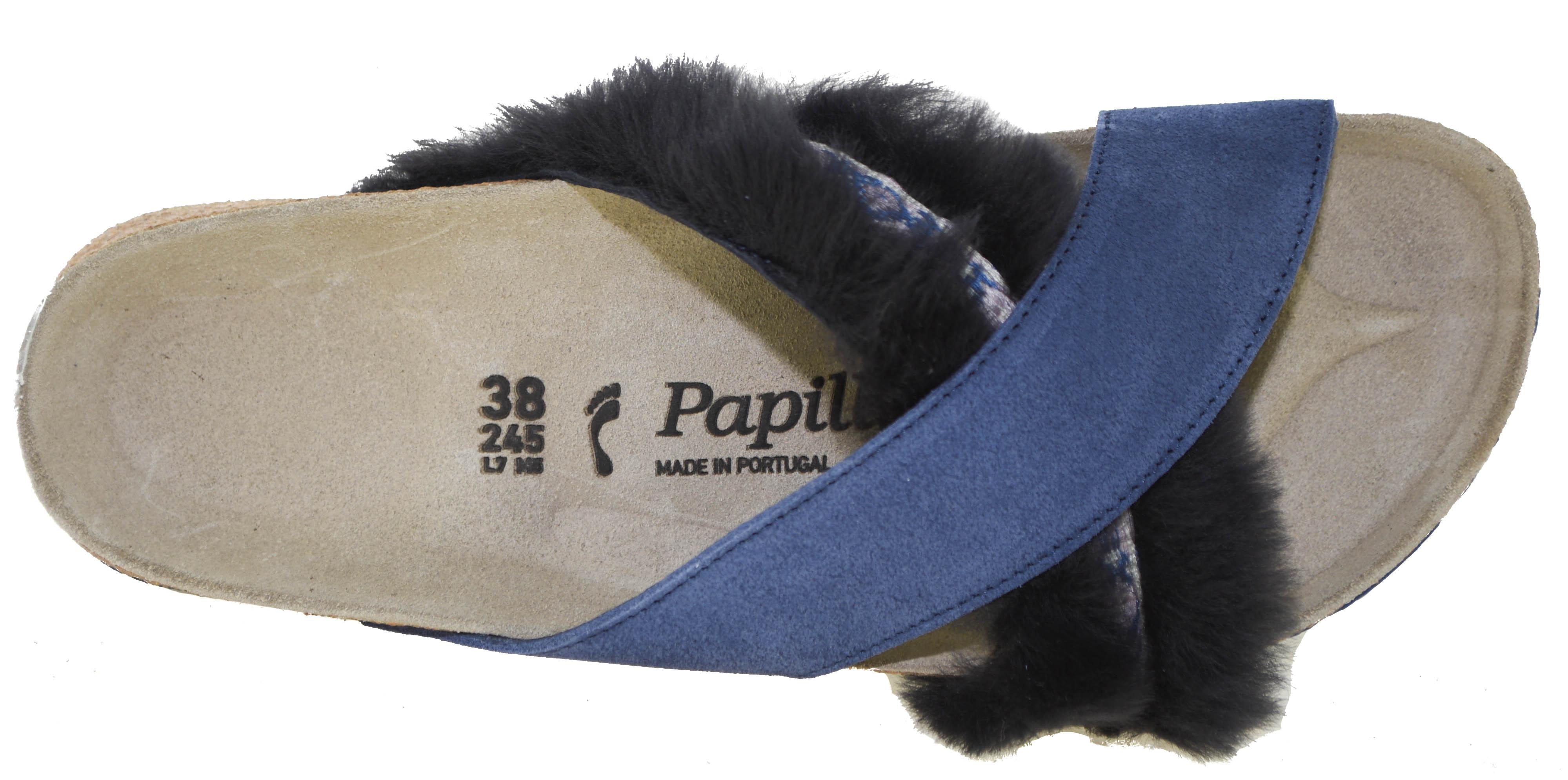 470267c8ea83 Birkenstock Papillio Women s Daytona Sandals Cozy Night Blue Style 1007288  EU 38