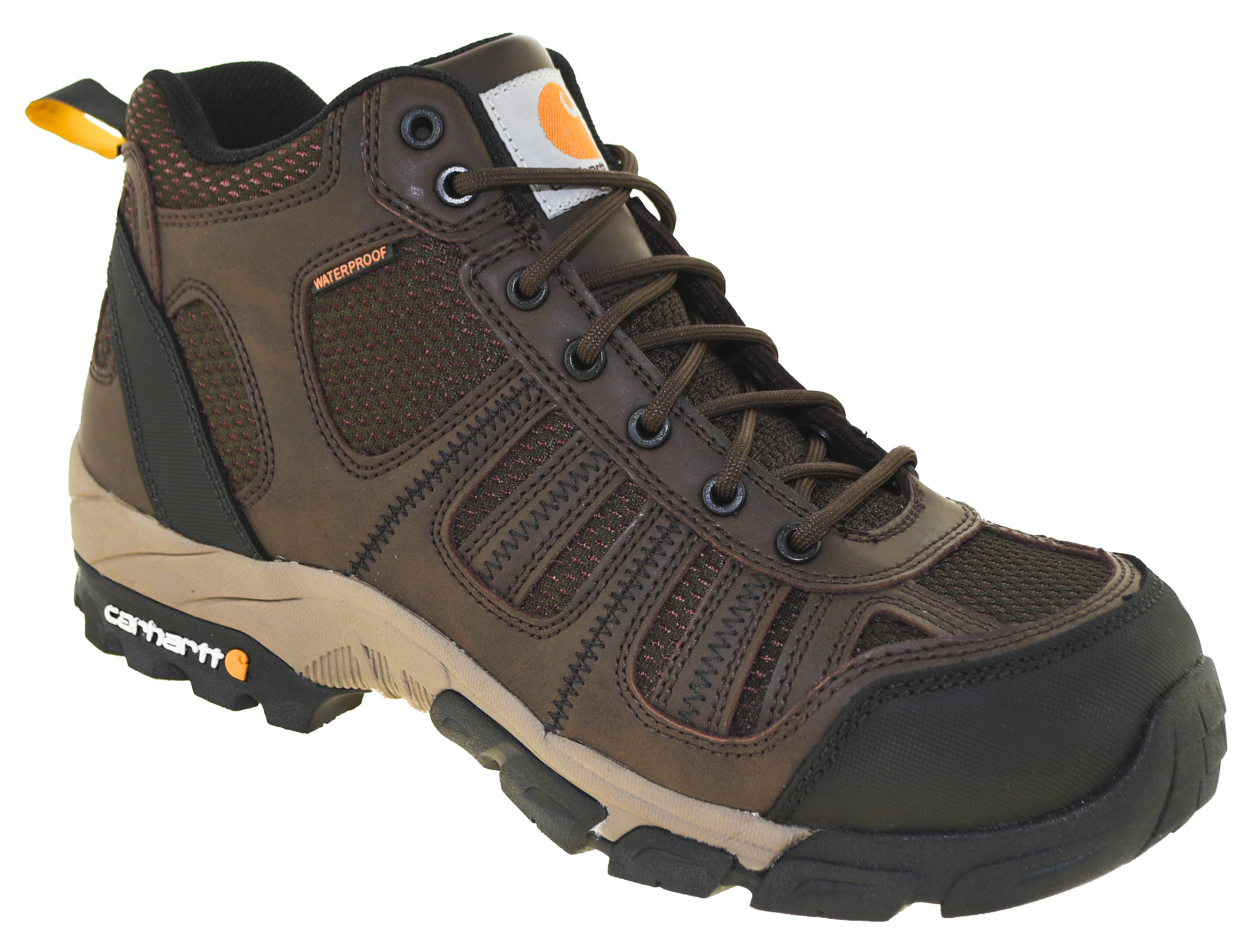 eb2ce189ee3 Details about Carhartt Men's Waterproof Composite Toe Hiker Boot Style  CMH4370