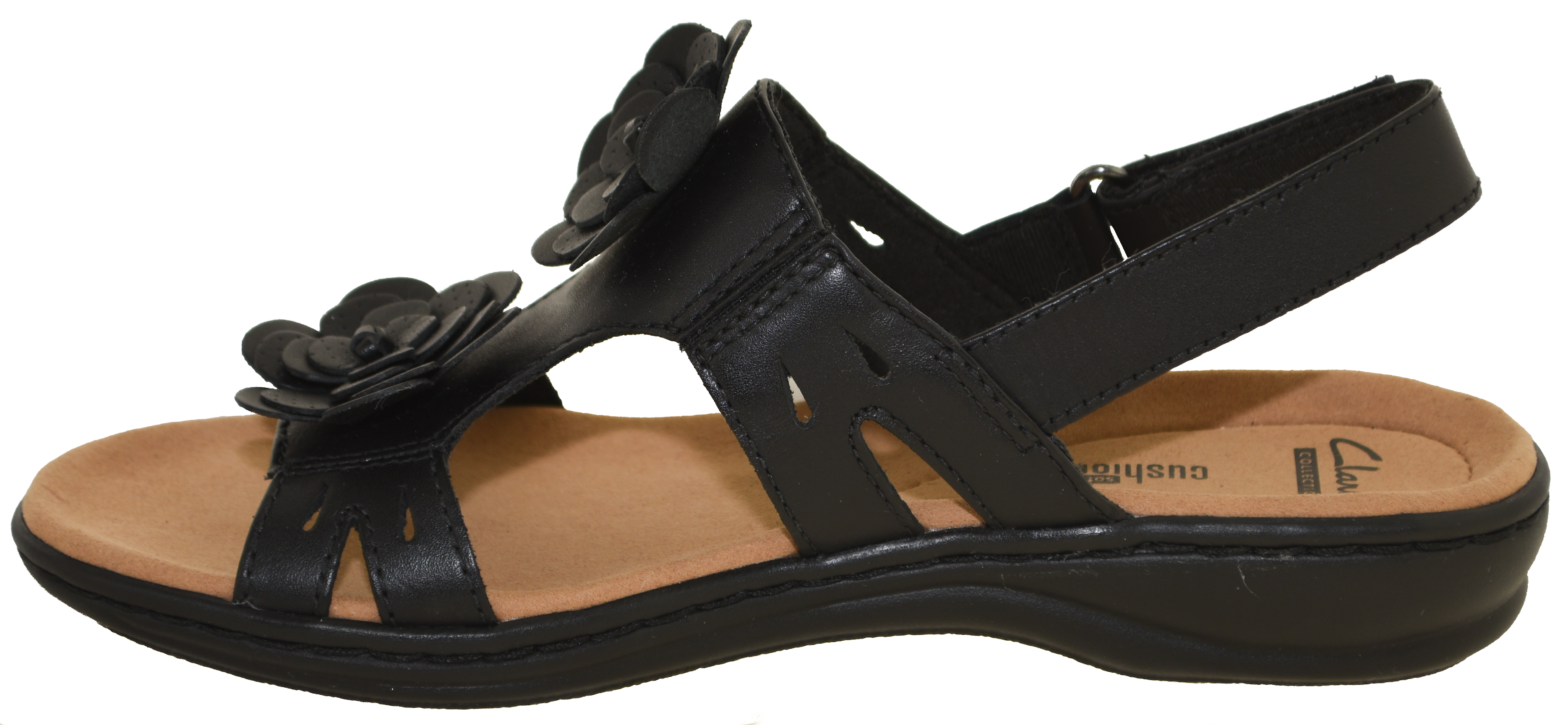 16ca5e468dc Details about Clarks Women's Leisa Claytin Sandals Black Style 25076