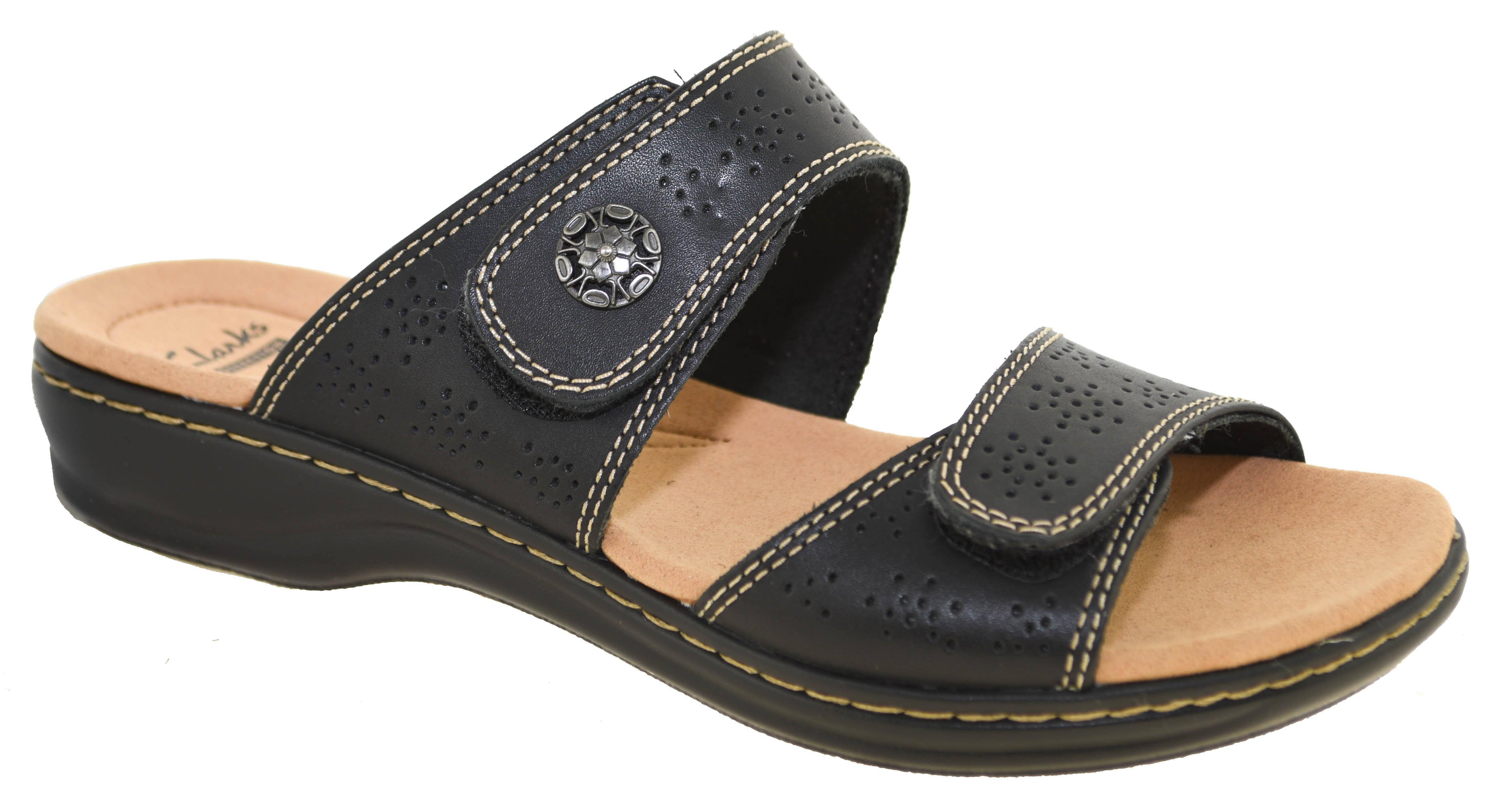 Clarks Damens's Leisa Lacole Slide Sandales schwarz Style 24793 24793 24793     7cb757