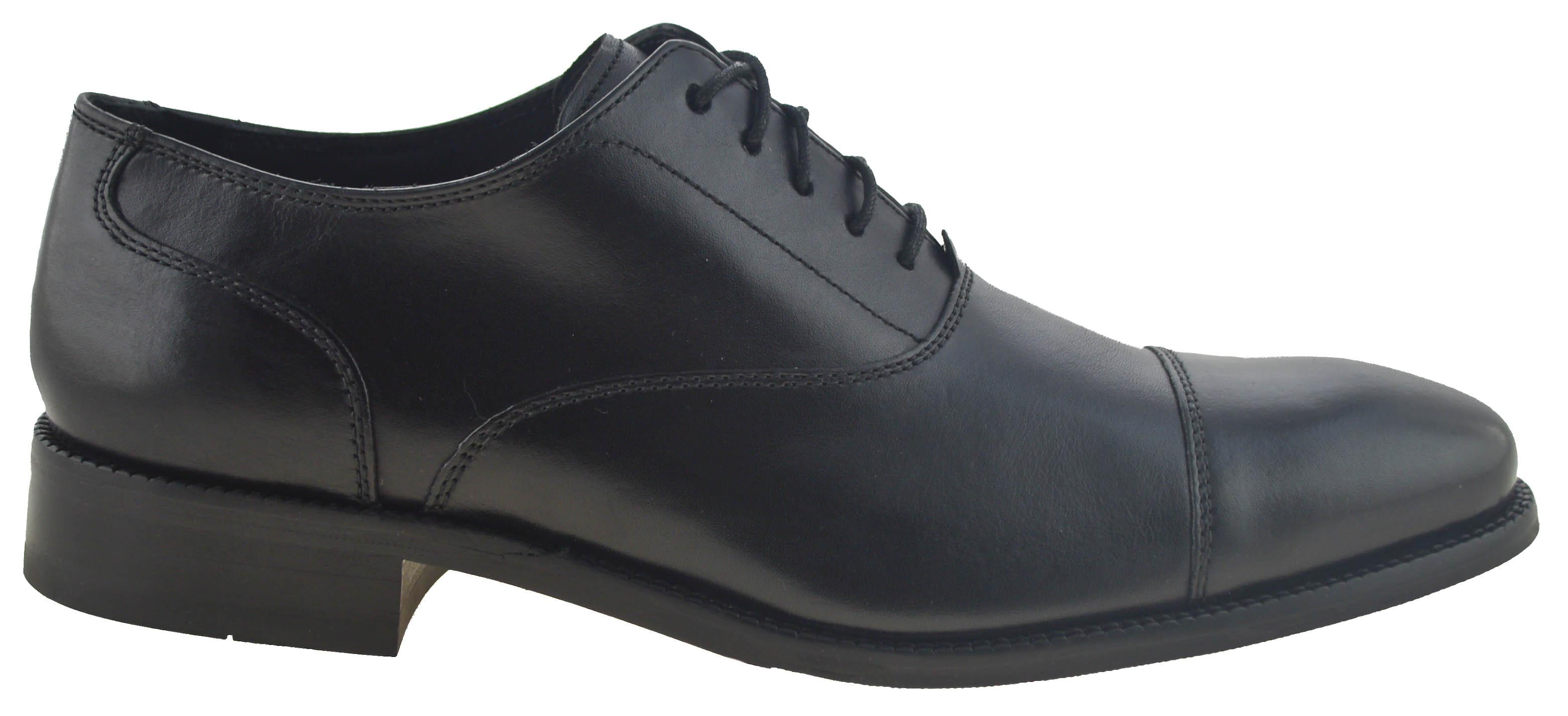 Williams Cap Toe Oxford Black C12202