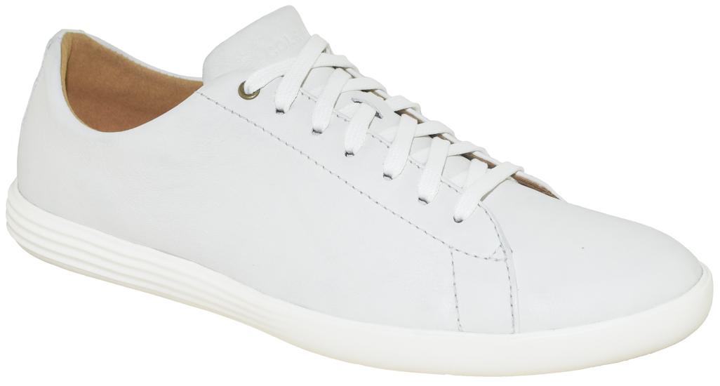 Men/'s Cole Haan Grand Crosscourt Knit Sneaker C27432 White Brand New