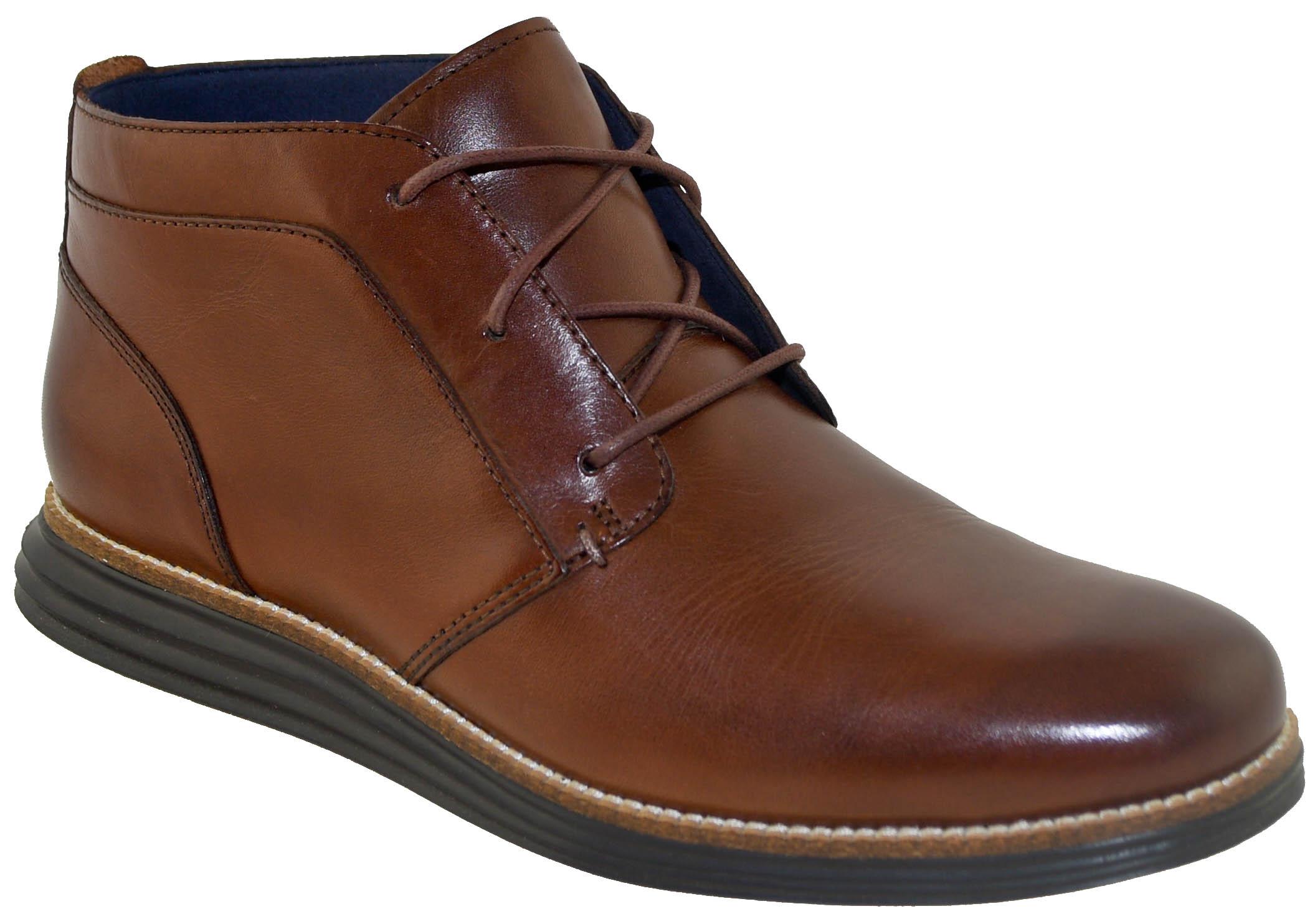 a40301faee968 Cole Haan Men s Original Grand Chukka Boot Woodbury Dark Roast Style ...