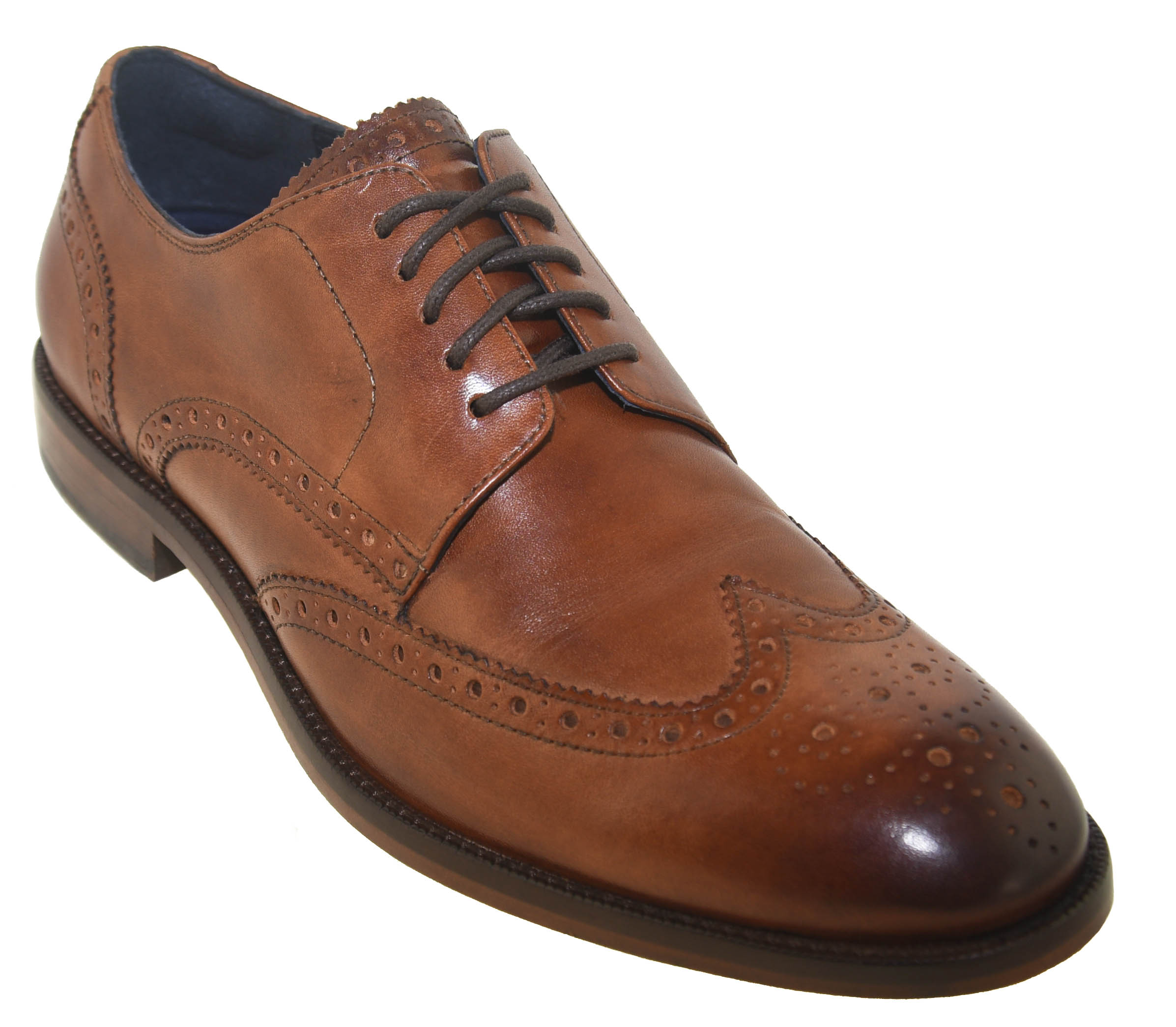 Harrison Wingtip Oxford Brown Style