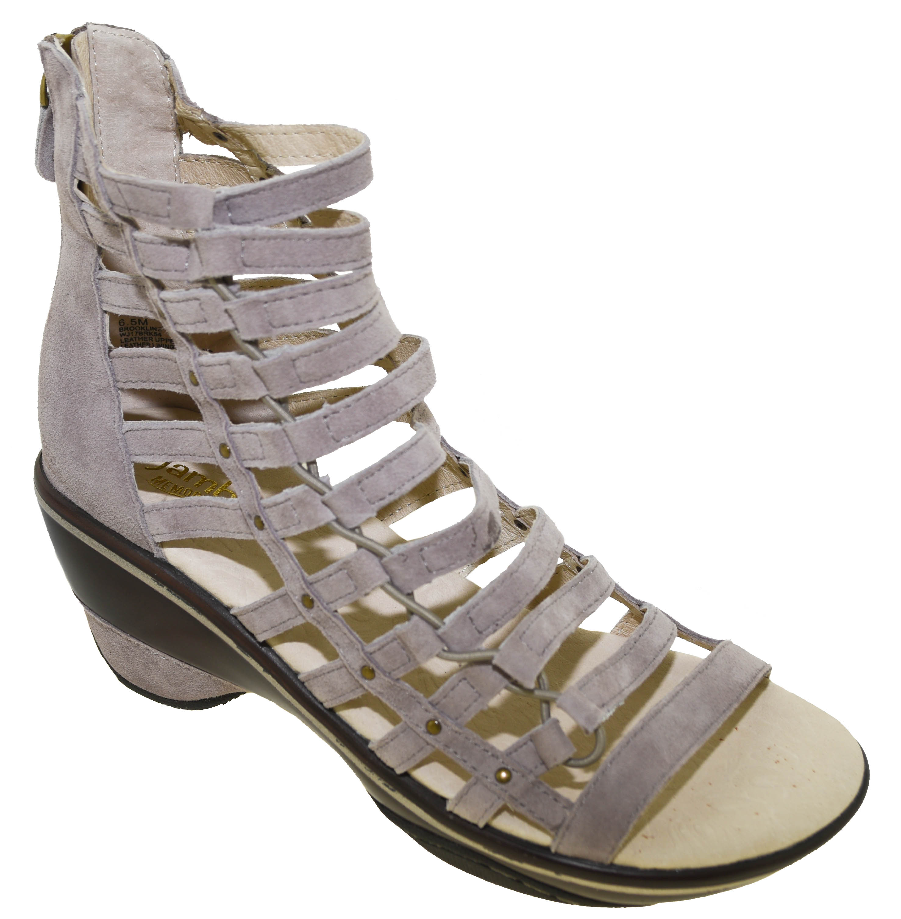 7c096d7dede Click Thumbnails to Enlarge. Embolden your look with the Brookline Wedge  Sandal from Jambu.