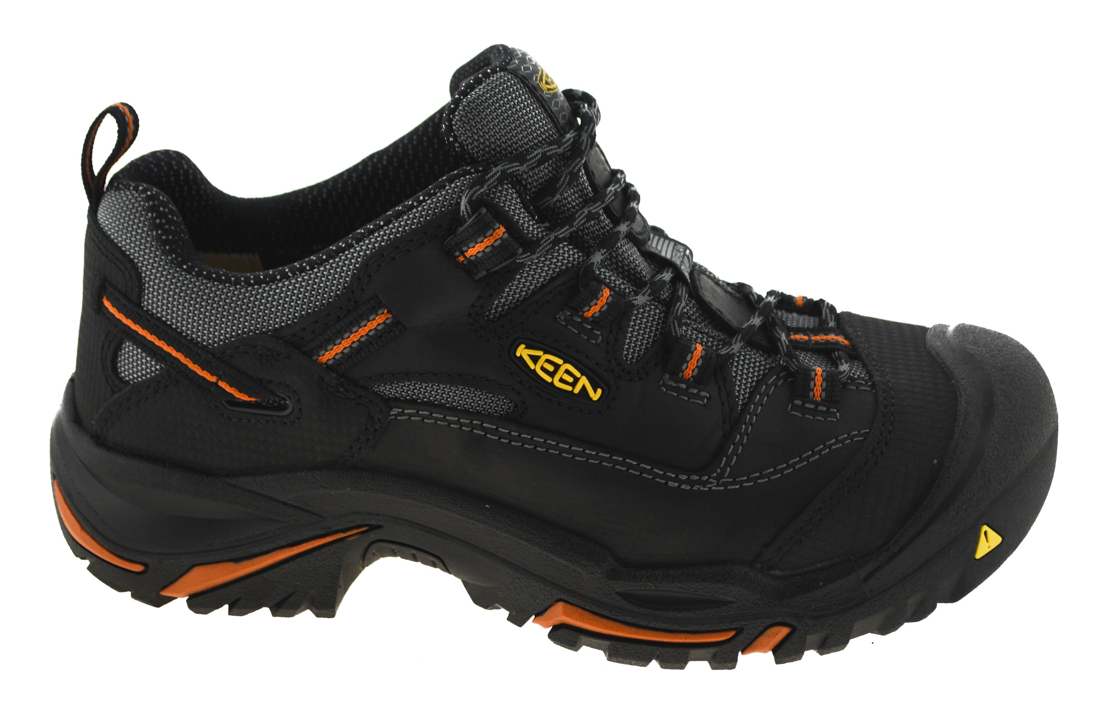 774eed917ec2 Keen Utility Men s Braddock Low Steel Toe Work Shoes Style 1011244 ...