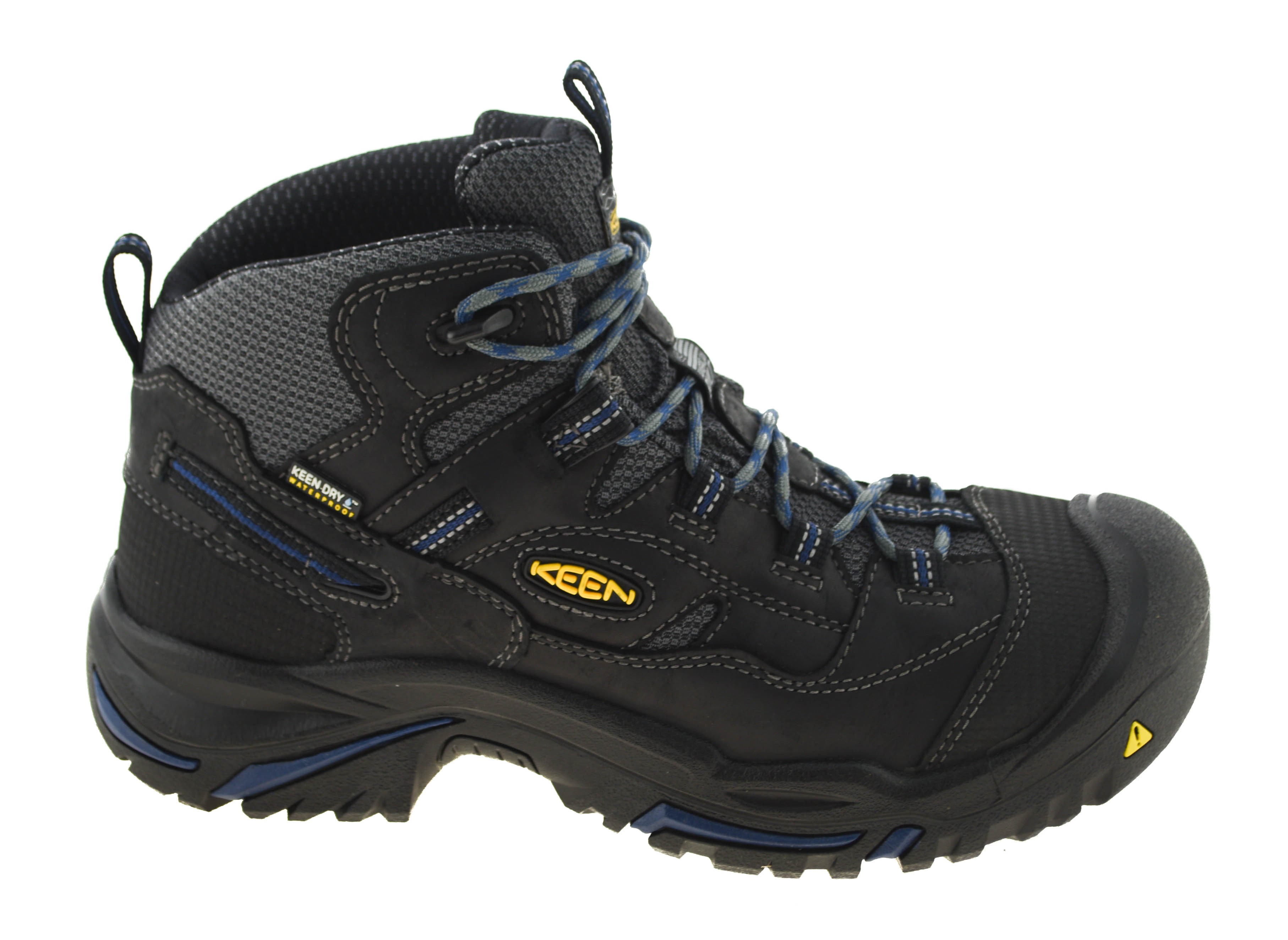 2046b9c8f14 Details about Keen Utility Men's Braddock Mid Waterproof Soft-Toe Work  Boots Style 1014605