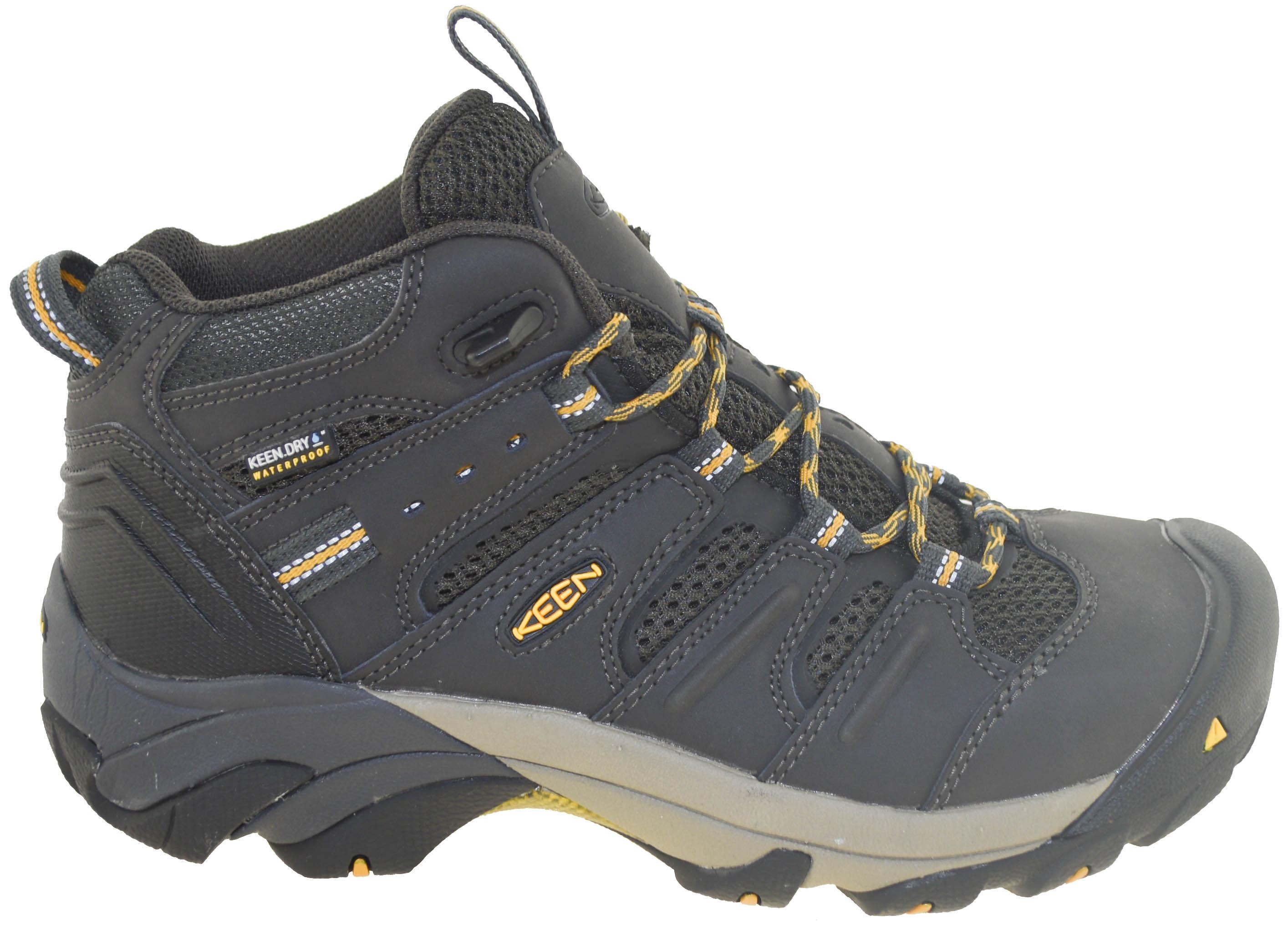 6d691de477d Details about Keen Utility Men's Lansing Mid Steel Toe Waterproof Work Boot  Raven Style 101807