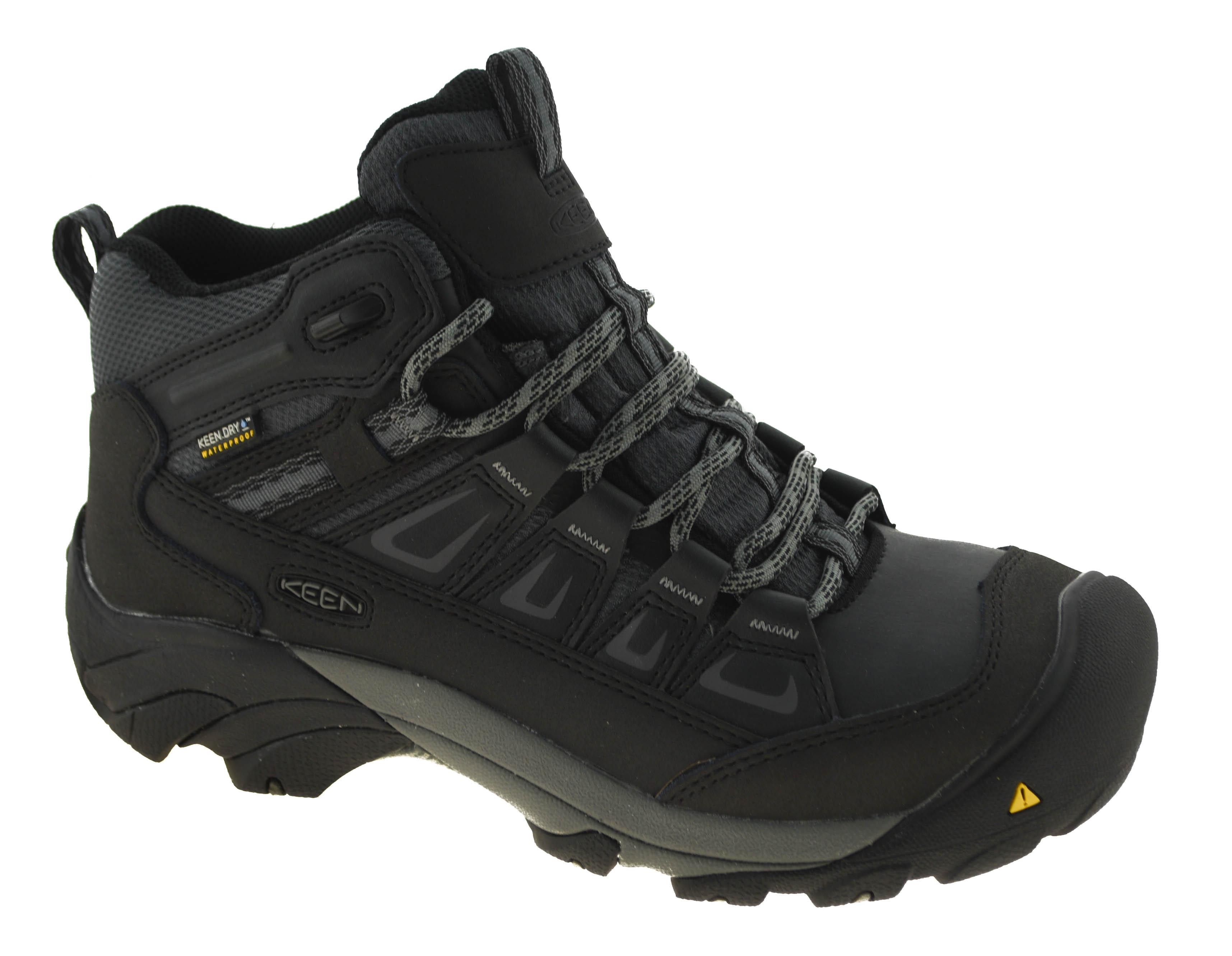 5e33a0ee5d4 Details about Keen Utility Men's Boulder Waterproof Steel Toe Work Boots  Style 1018653