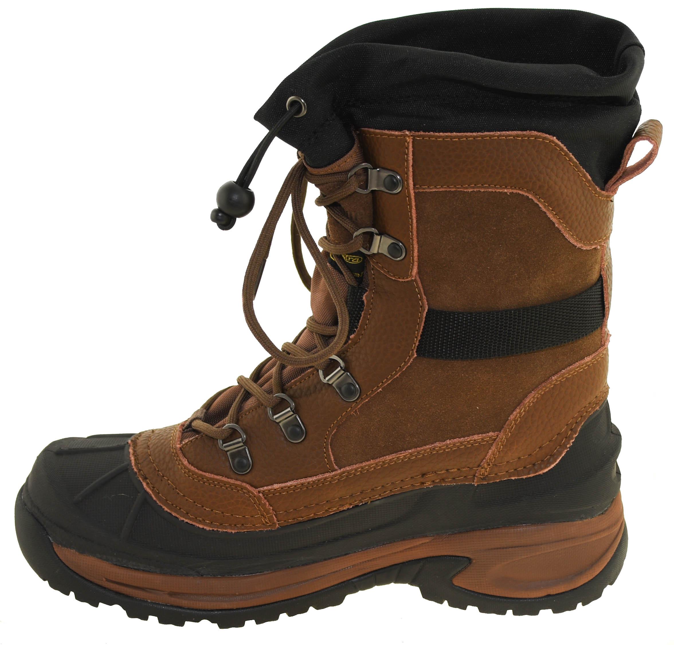 b462d10236496 Northside Men's Bozeman Waterproof Insulated Winter Boot Brown 916432