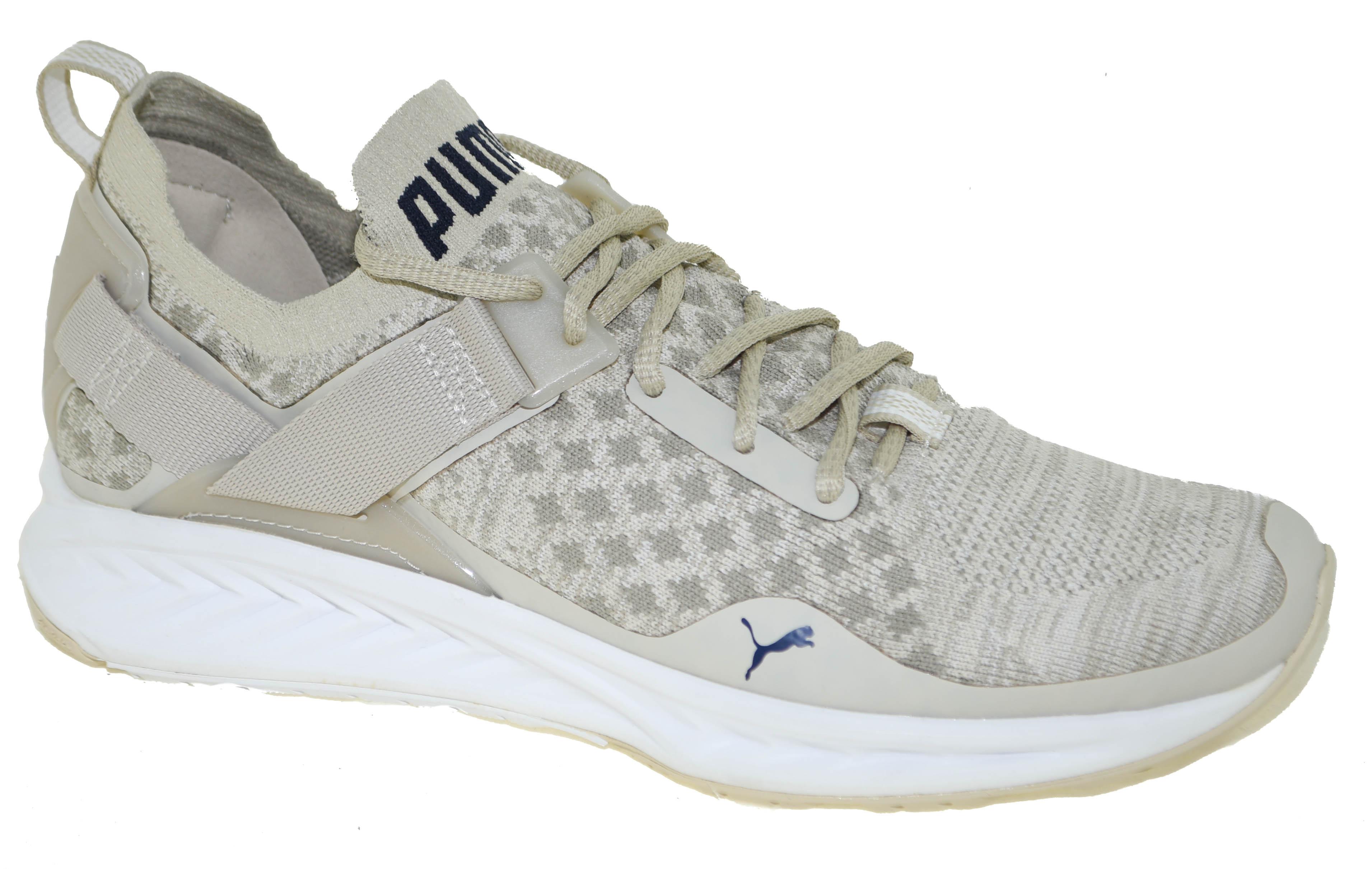 Puma Men s Ignite EVOKnit Training Shoes Khaki Style 189926-02  8b0fe09aa